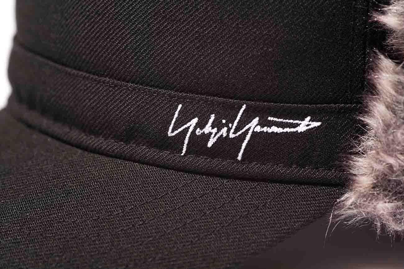 Yohji Yamamoto × New Era BLACK SERGE FUR THE RANGE