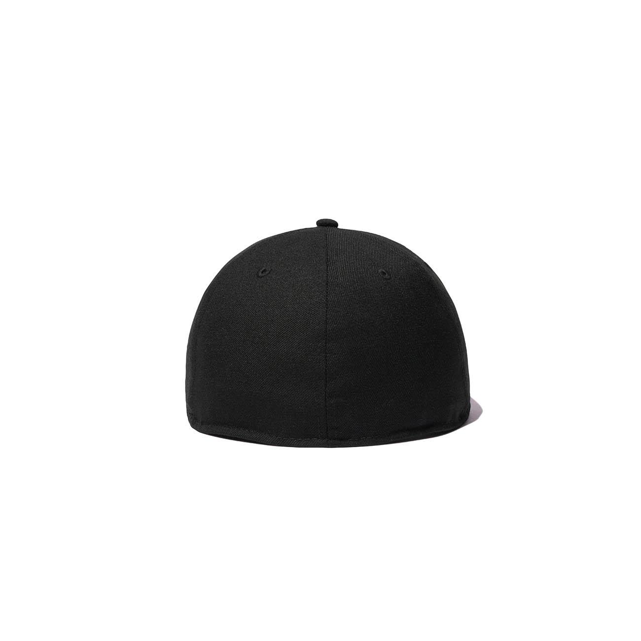 Yohji Yamamoto × New Era BLACK SERGE 59FIFTY LOGO BLACK/SILVER