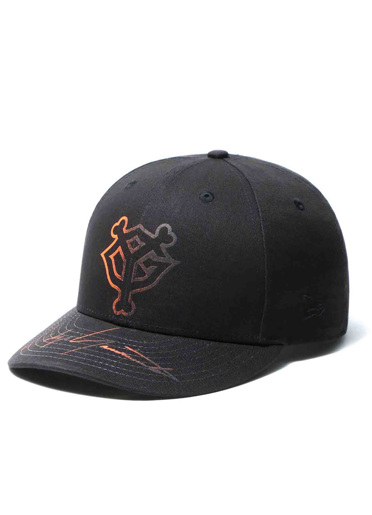 Yohji Yamamoto × Yomiuri Giants × New Era Low Profile 59FIFTY Cotton Black Orange