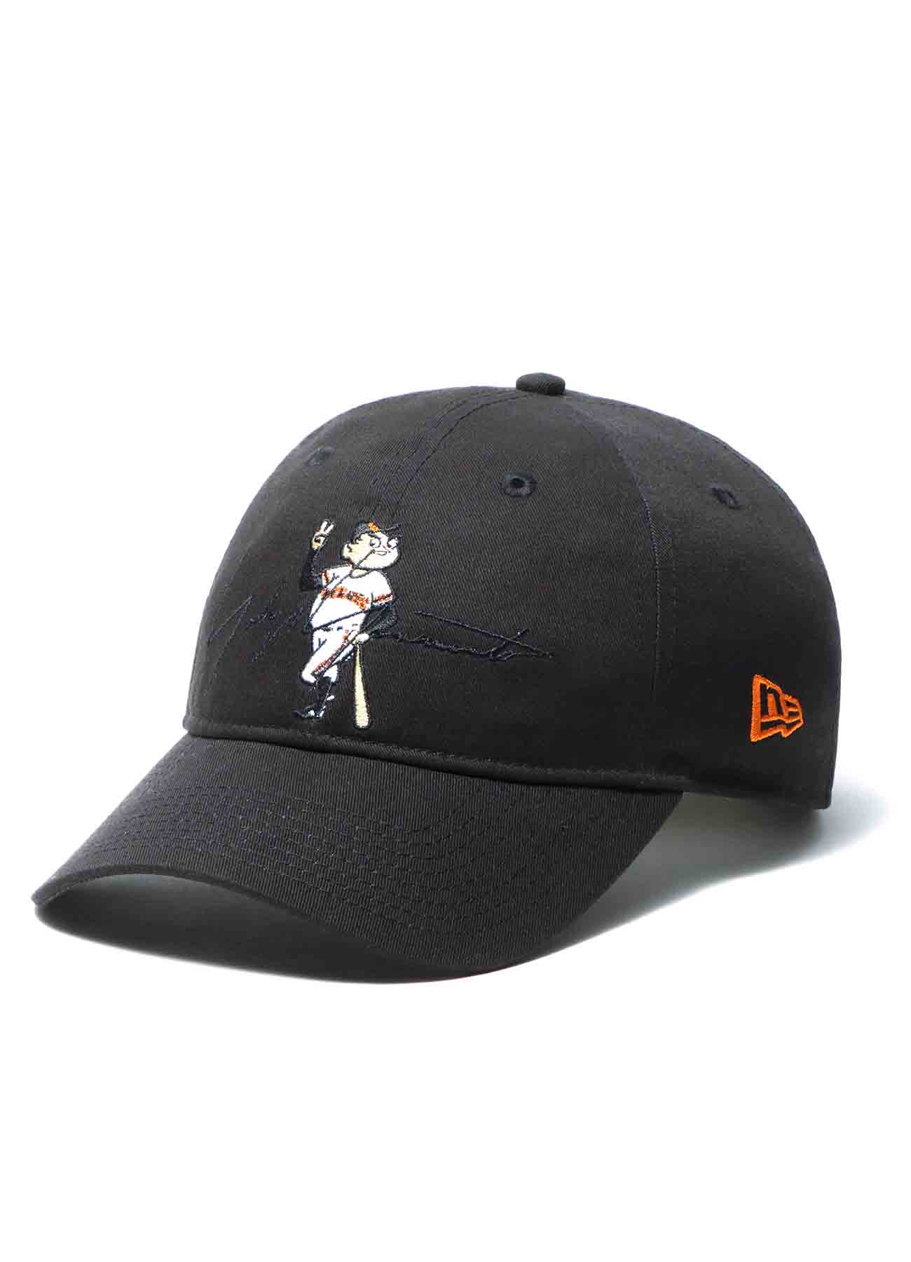 Yohji Yamamoto × Yomiuri Giants × New Era 9THIRTY Cotton Black Orange