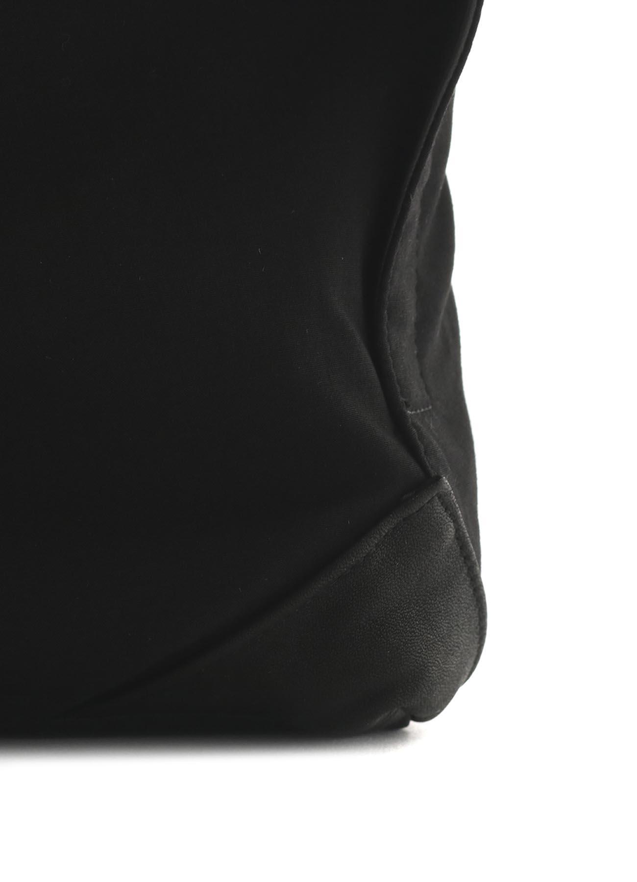RY/SOFT LEATHER LAYERED WAIST BAG