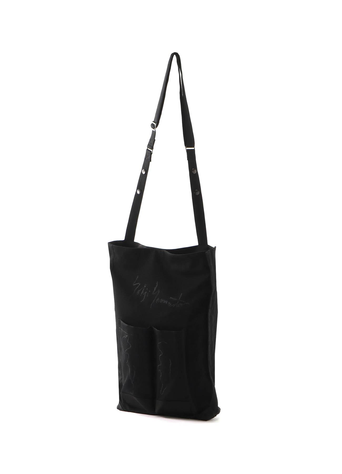 GABARDINE LAYERED WAIST BAG