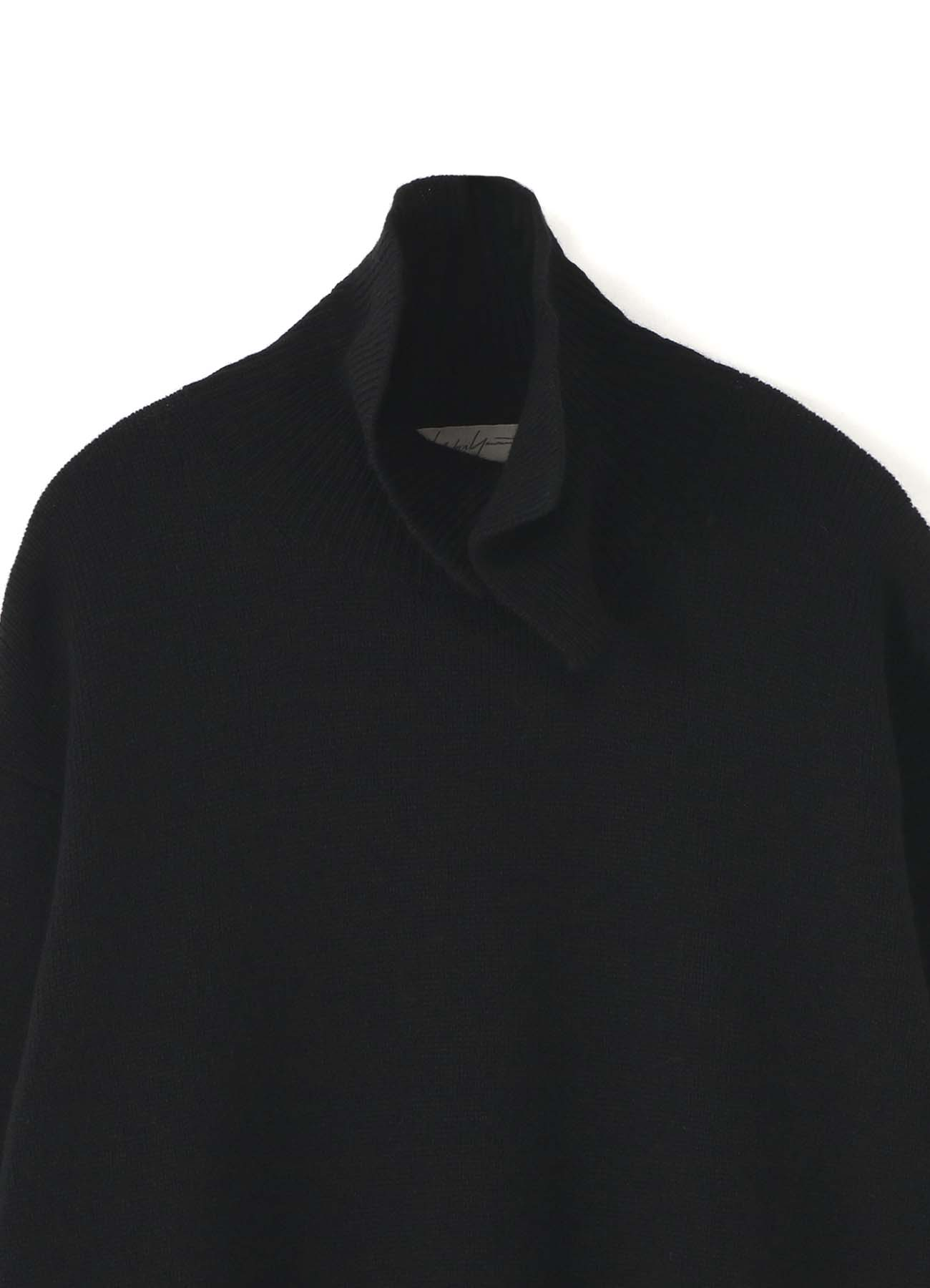 7G LAYER UNEVEN COLLAR TURTLE NECK