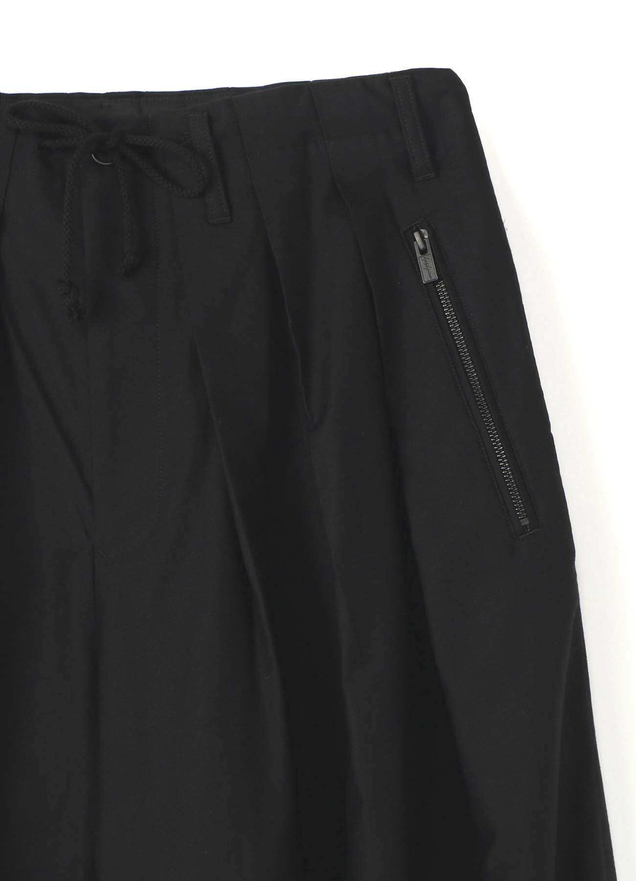BLACK Scandal刺繍ツイル バルーンパンツ