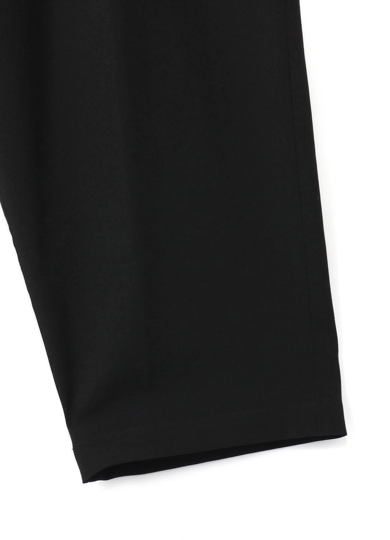 GABARDINE 2TUCK PANTS