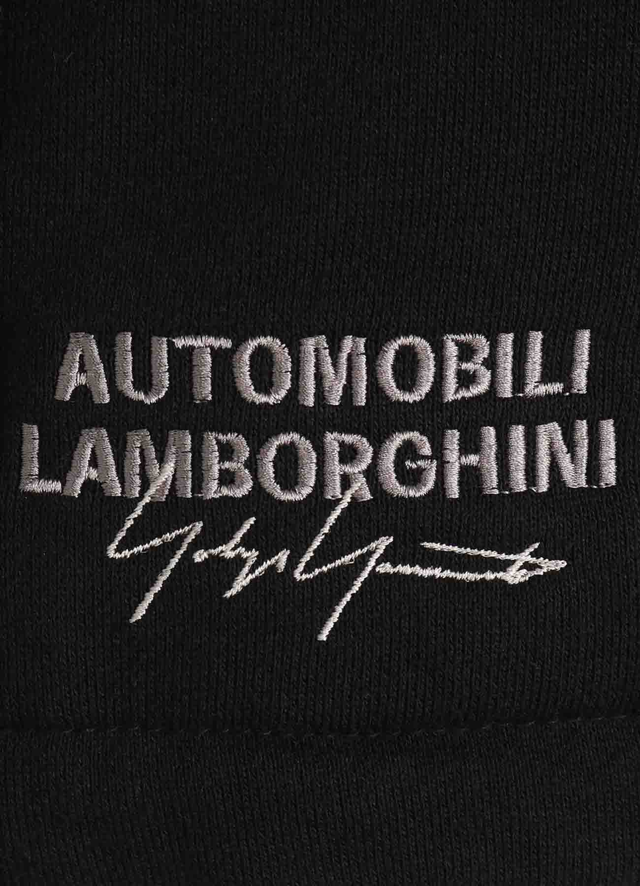 Yohji Yamamoto × Lamborghini Embroidery Hoodie