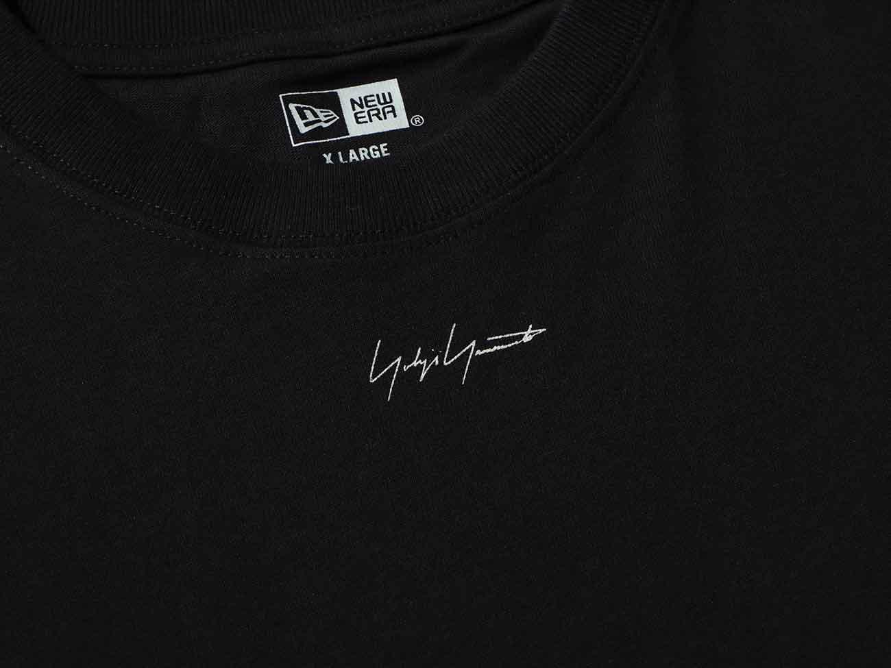 Yohji Yamamoto × New Era MINI LOGO S/S COTTON TEE