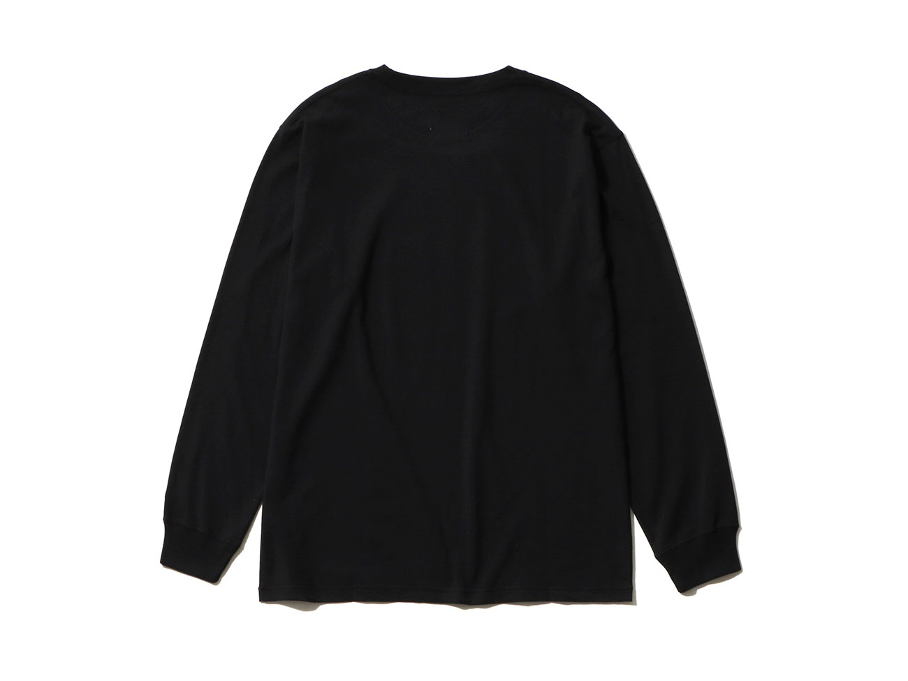 Yohji Yamamoto × New Era MINI LOGO L/S COTTON TEE