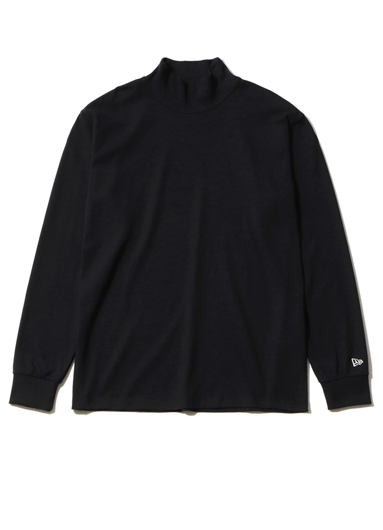 Yohji Yamamoto × New Era MINI LOGO HIGH COLLAR L/S PERFORMANCE TEE