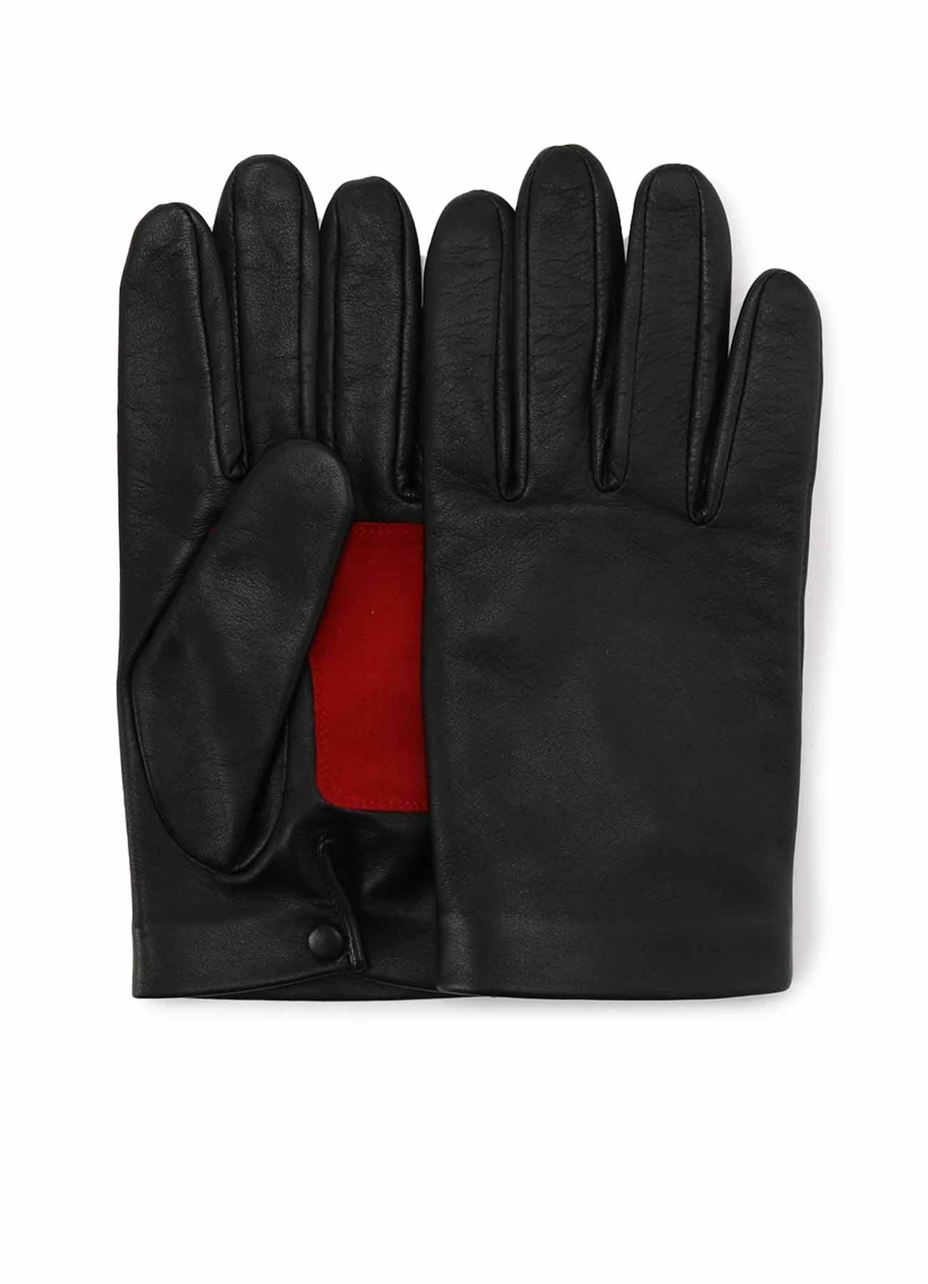 LAMB SUEDE LEATHER PATCH GLOVE