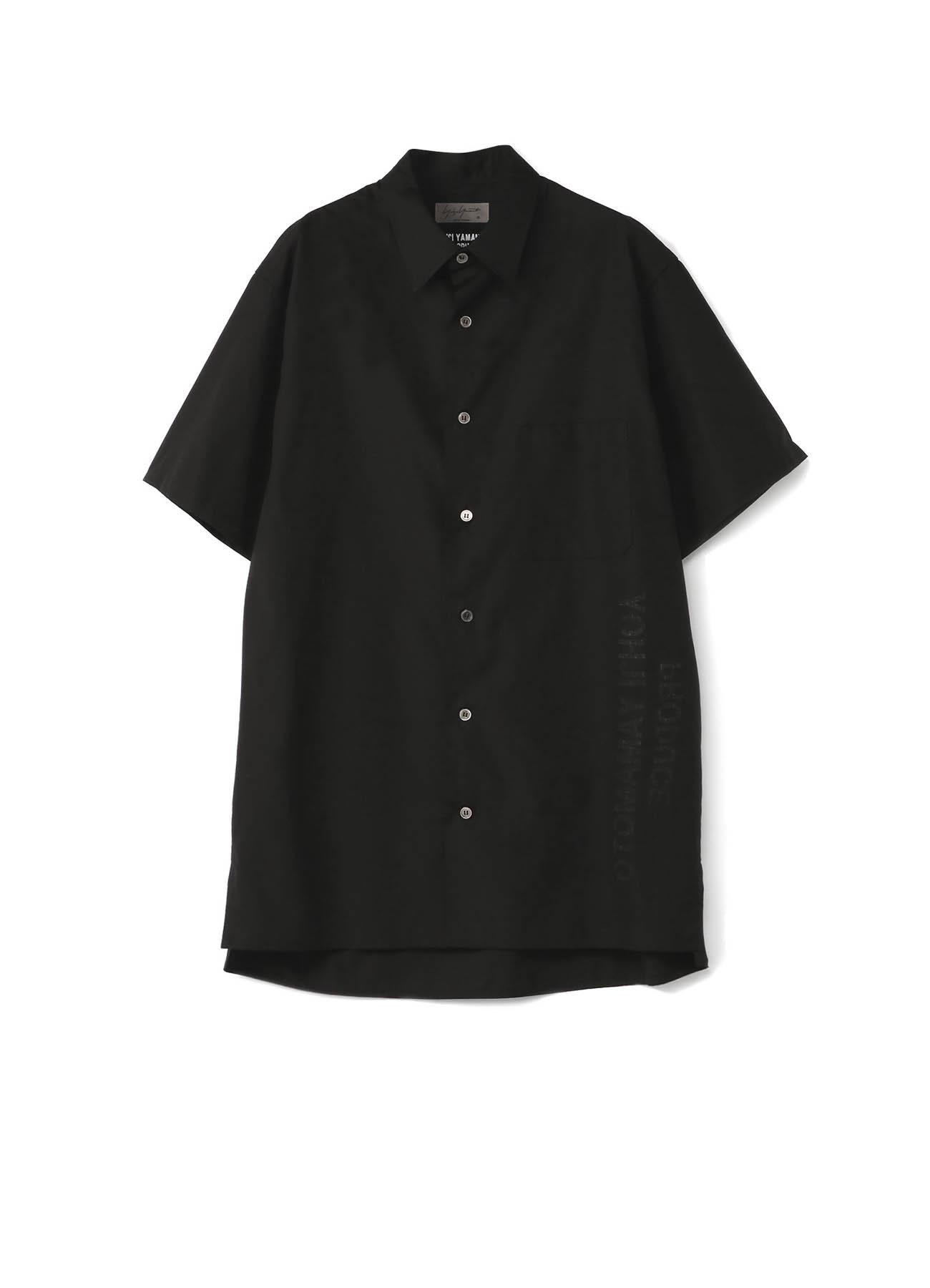 【THE SHOP限定】细平纹短袖衬衫