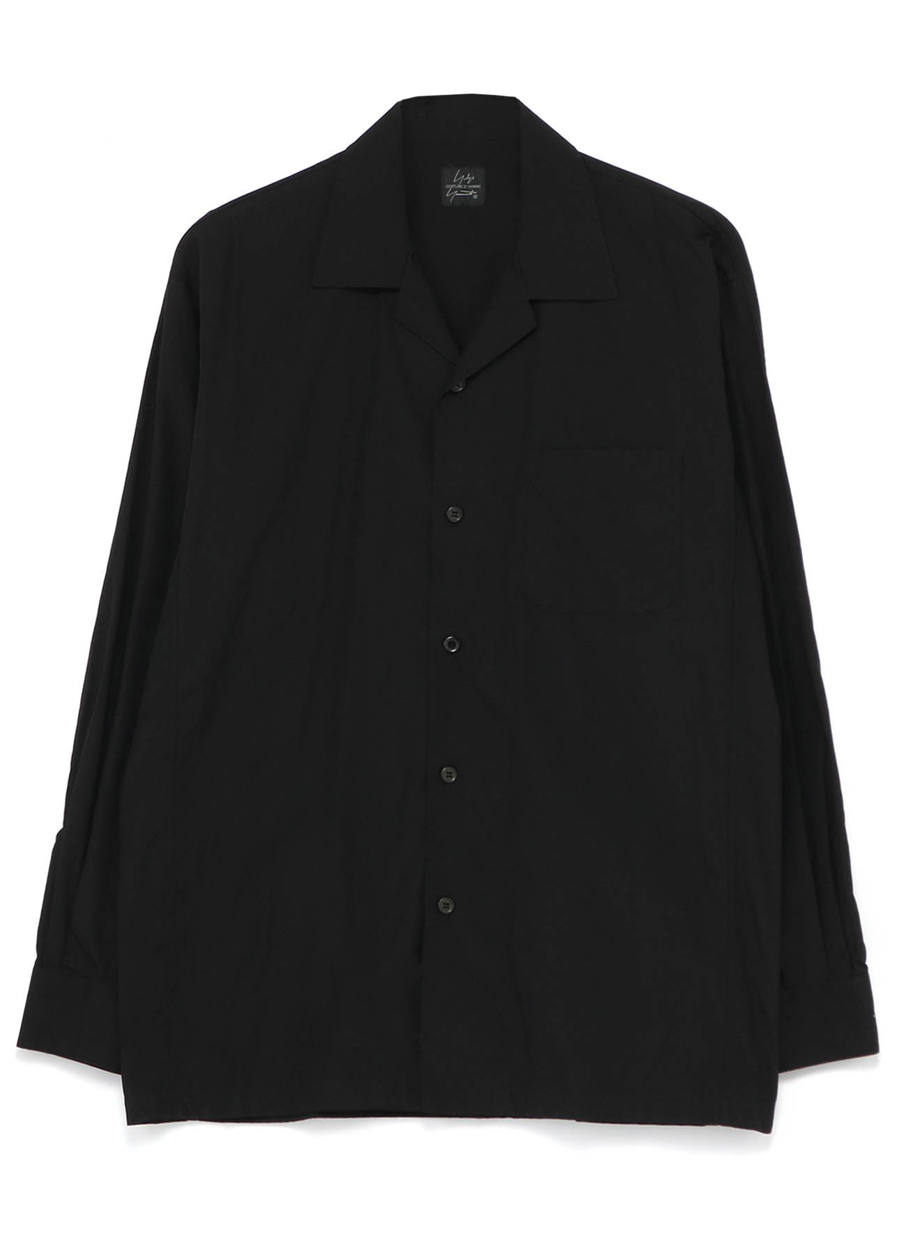 COSTUME D'HOMME 4 DIMENSION CUTTING MOTION OPEN COLLAR SHIRT