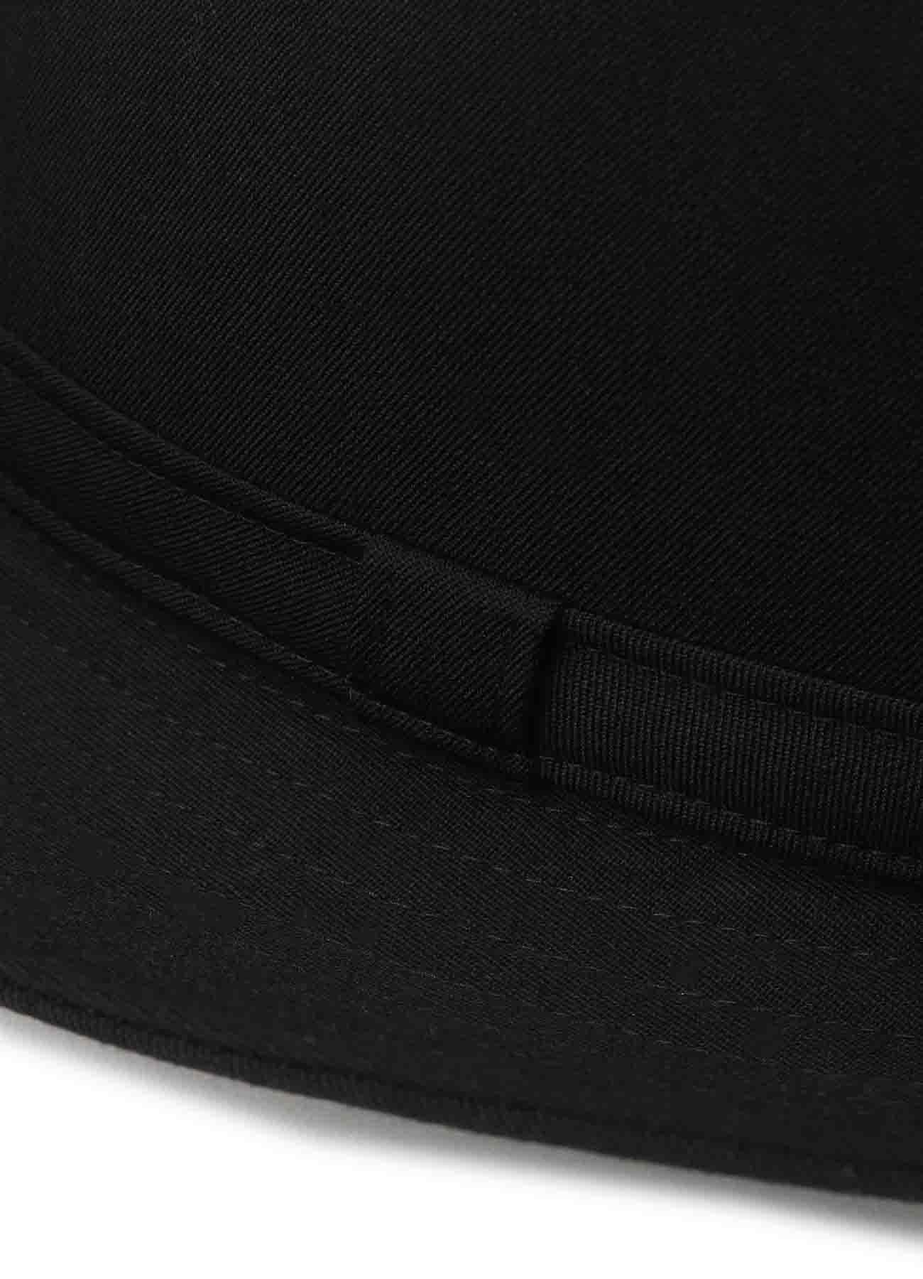 W/GABARDINE FEDORA HAT