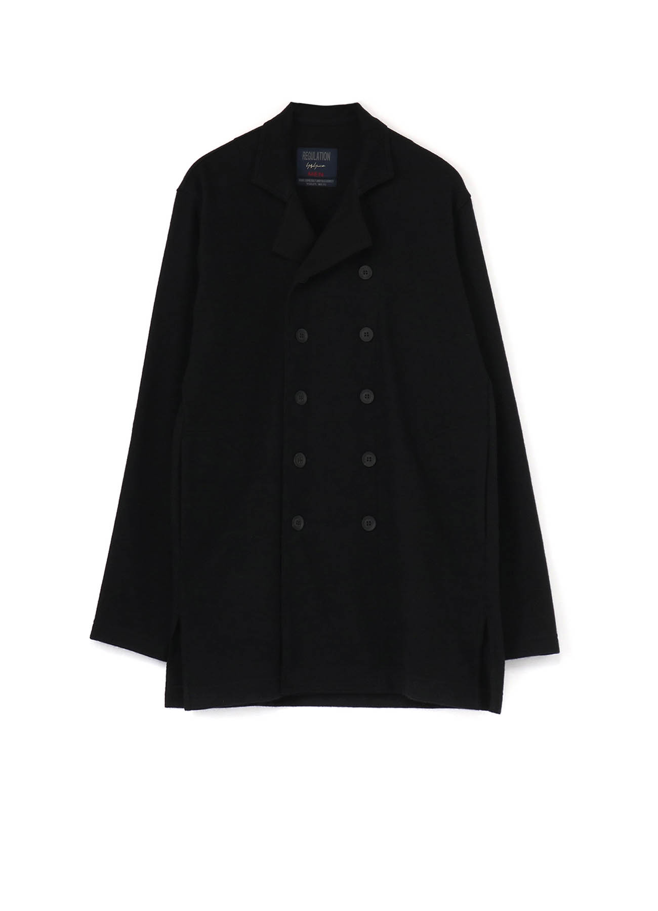 REGULATION SPECIAL SOFT CARDING WOOL PS DOUBLE JACKET