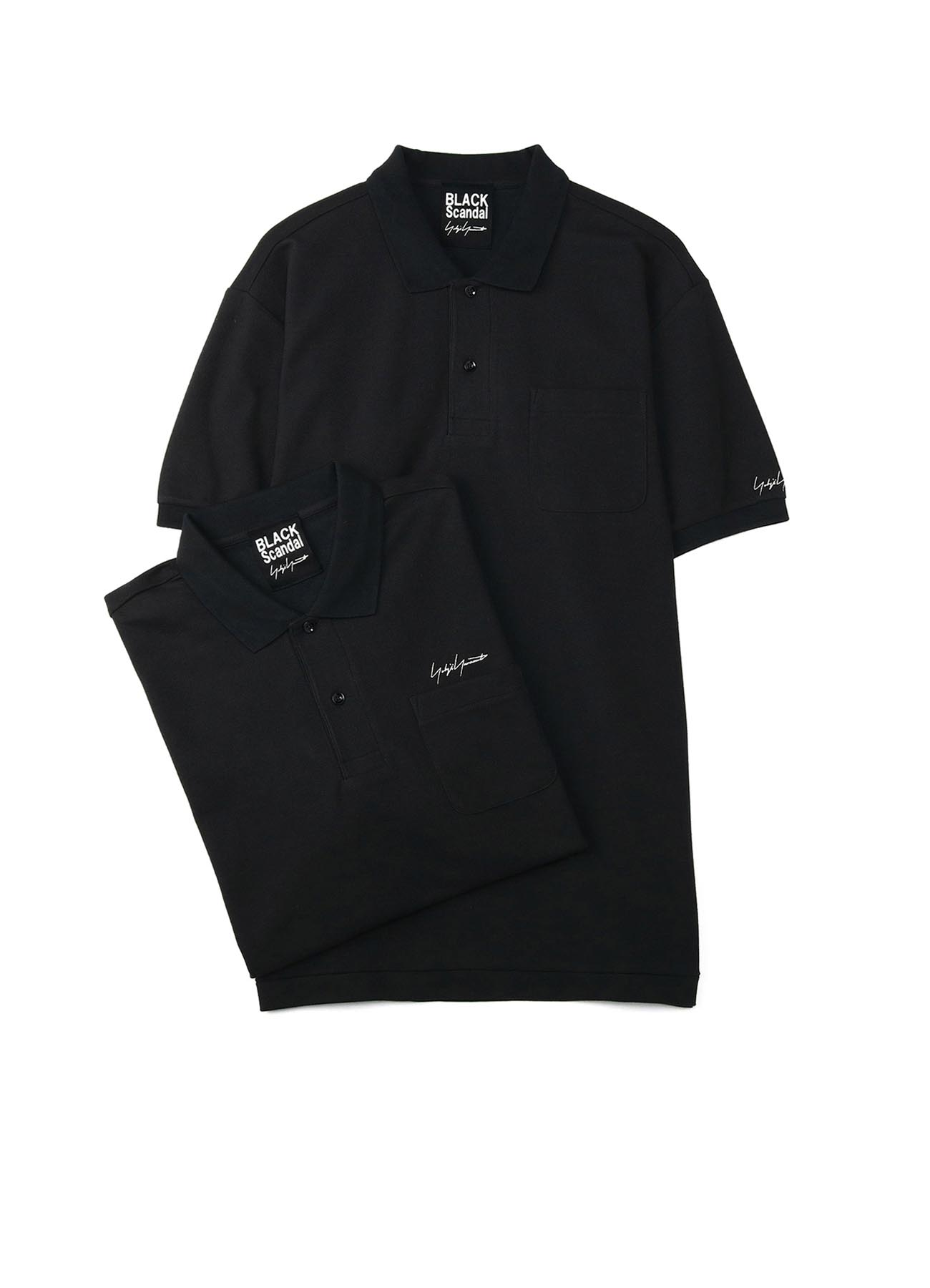 2PIECES PACK SIGNATURE EMBROIDERY POLO SHIRTS