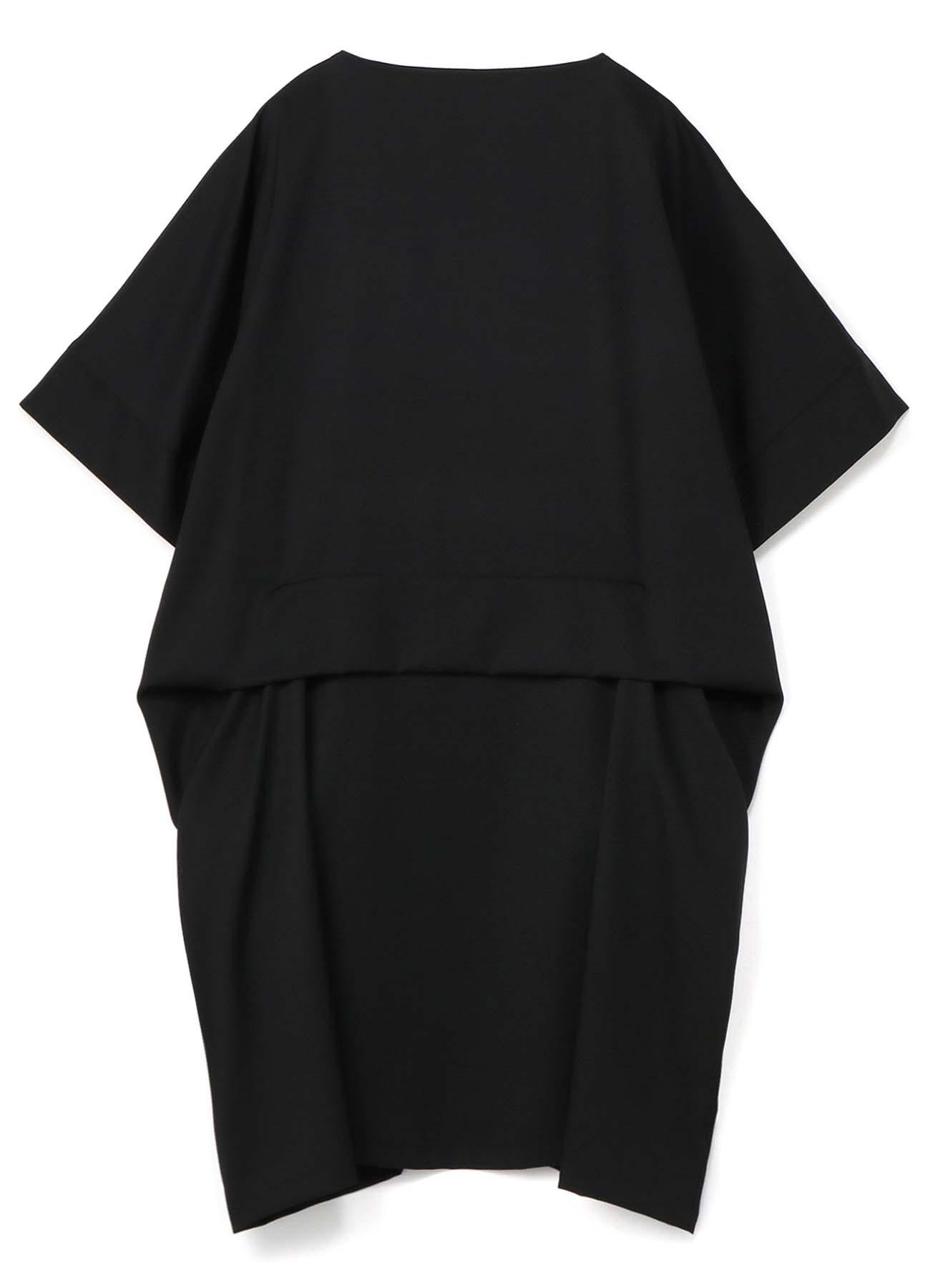 Standard W/Gabardine Dropped Pocket Dress