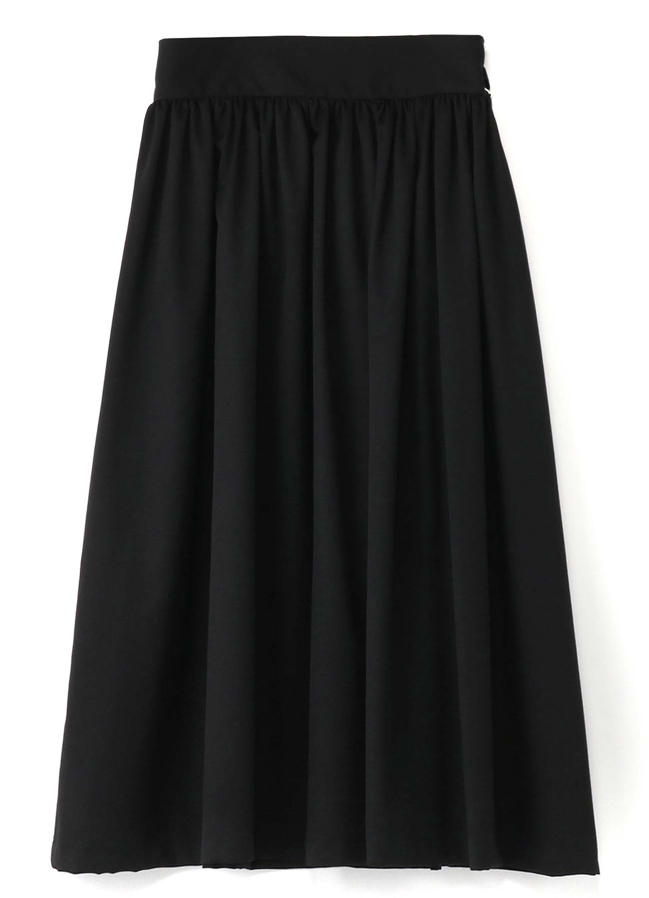 Standard W/Gabardine Long Gathered Skirt