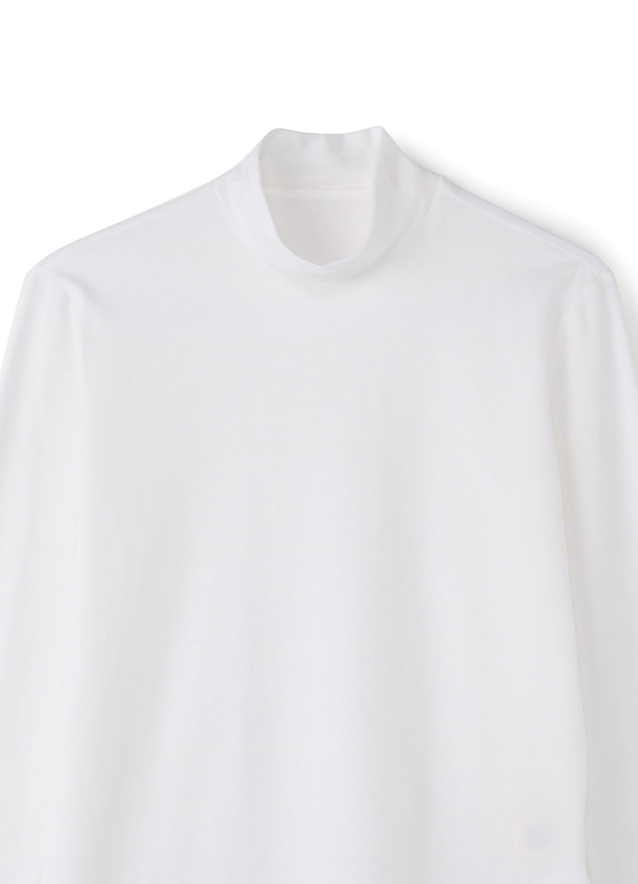C/Pu High twisted Bare Jersey High Neck T