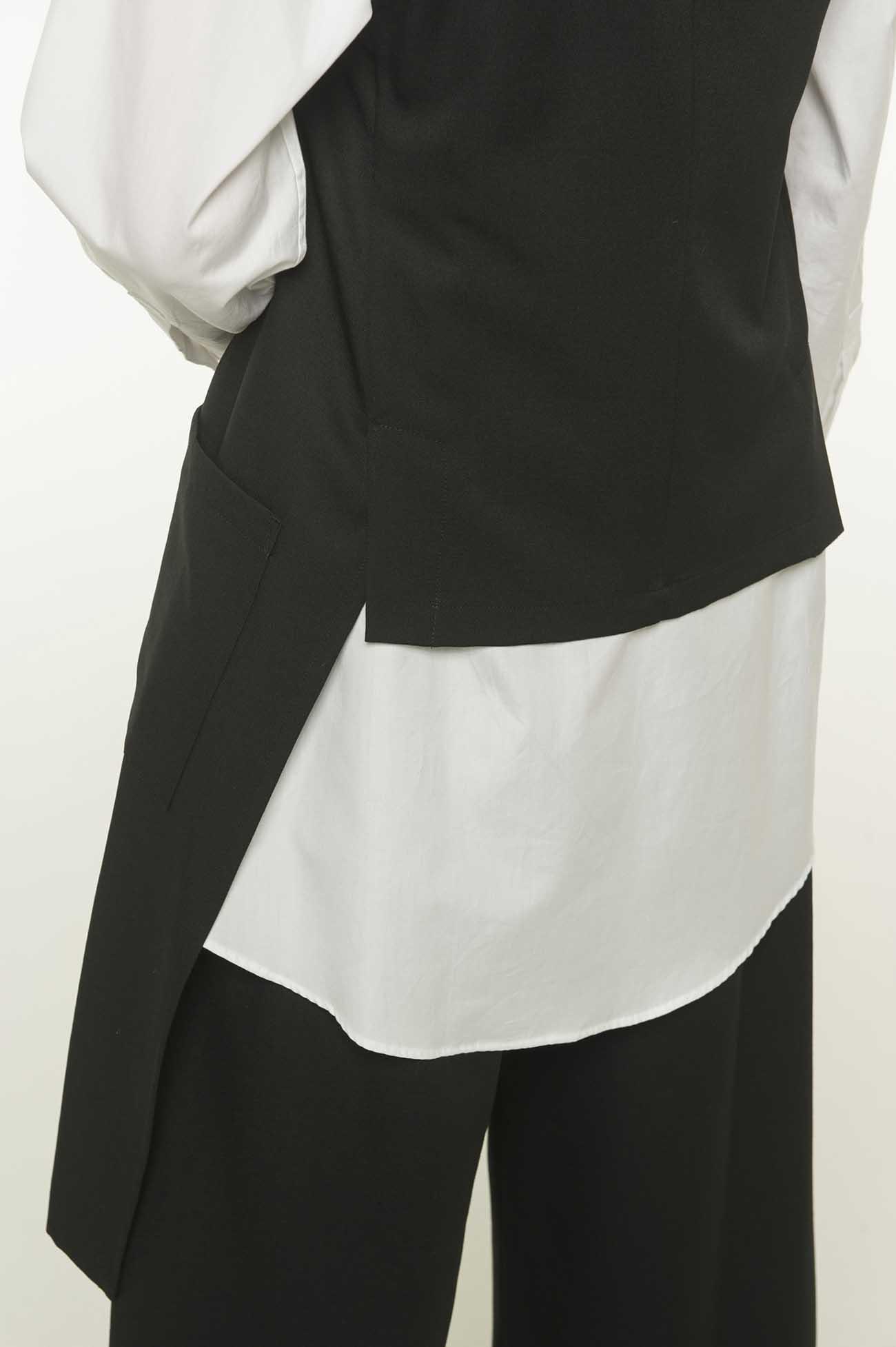 Standard W/Gabardine Stole Vest