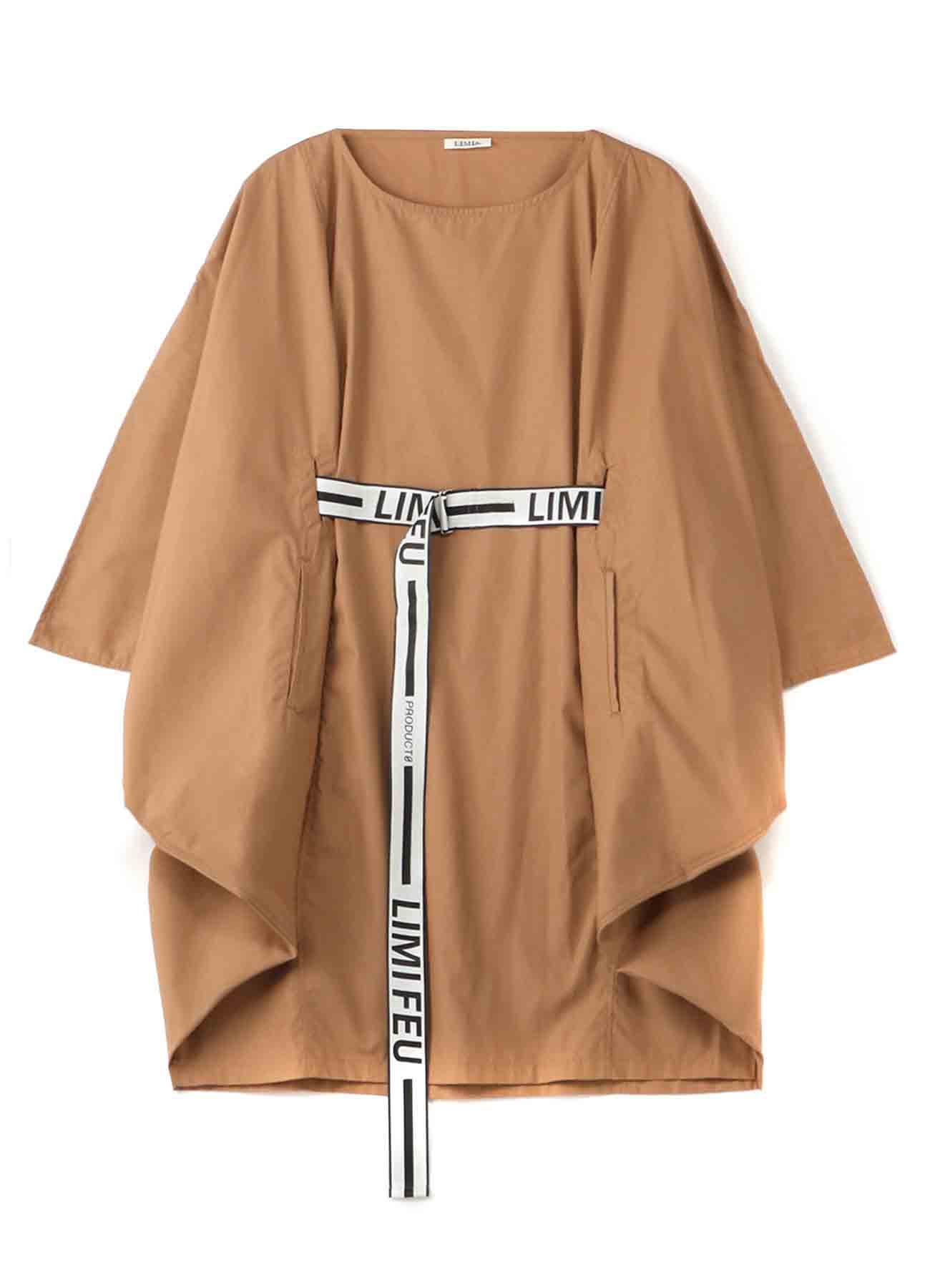 Pe/Cブロードベルト付ドレス