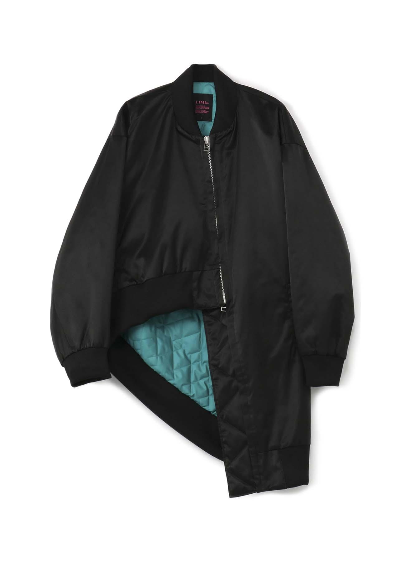 不对称设计夹棉短外套