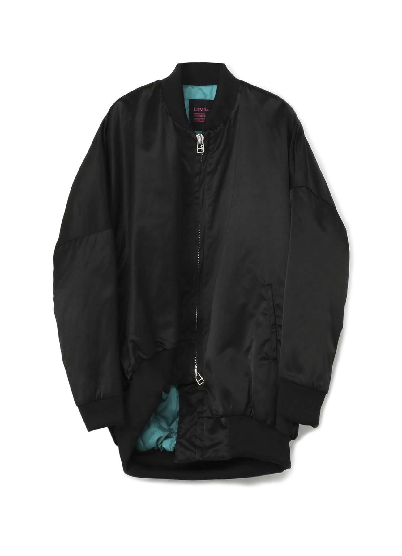 不对称设计长款夹棉外套