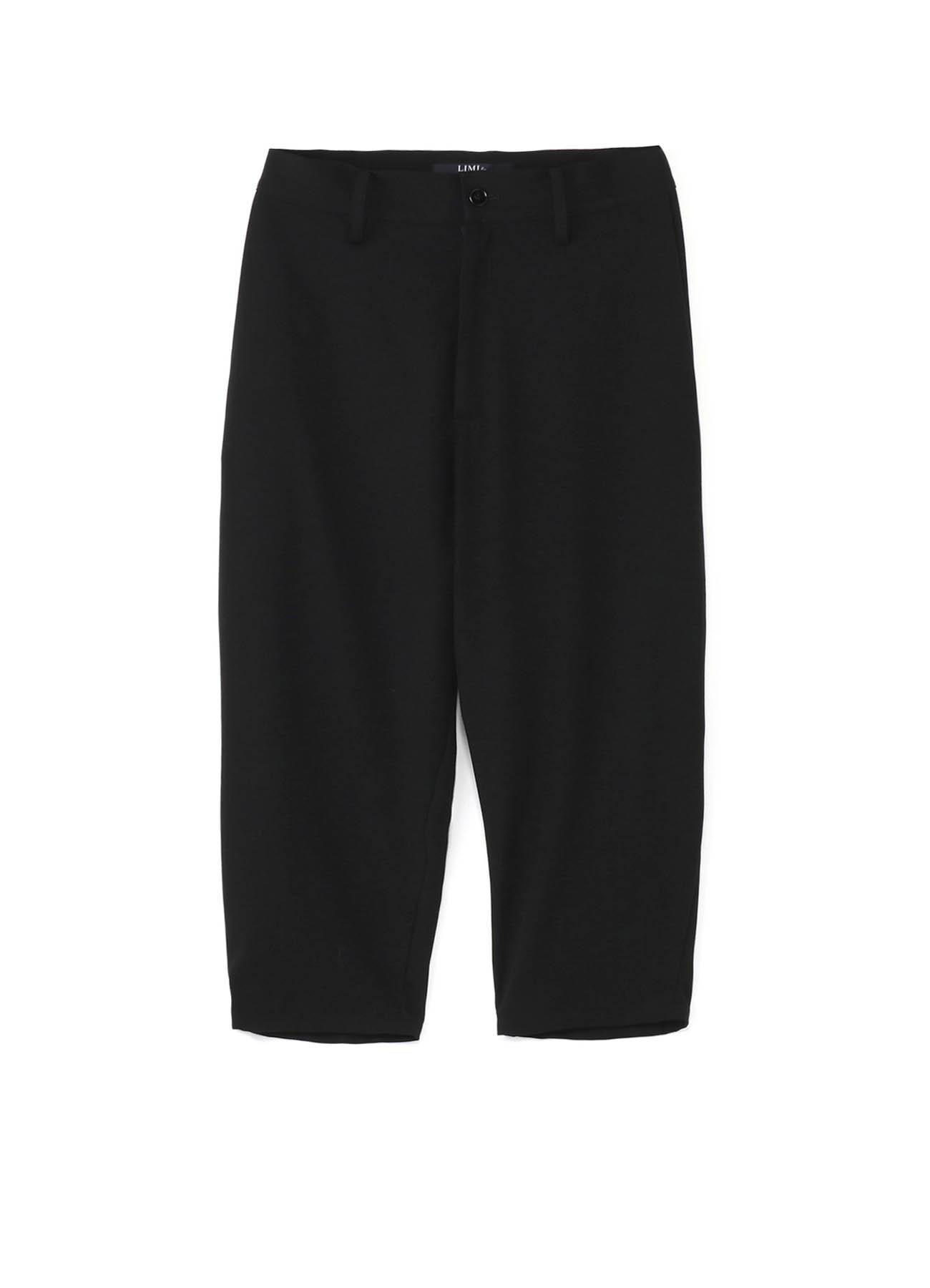 羊毛锥形七分裤