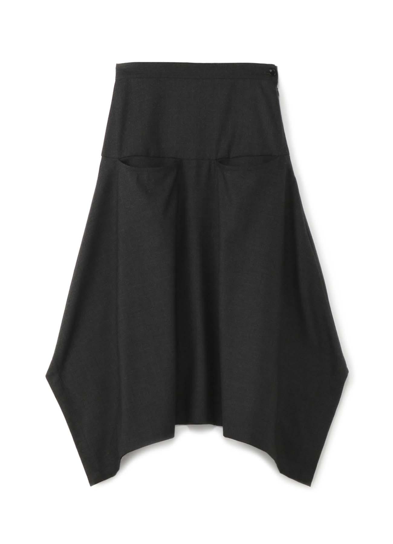 双侧口袋半身裙