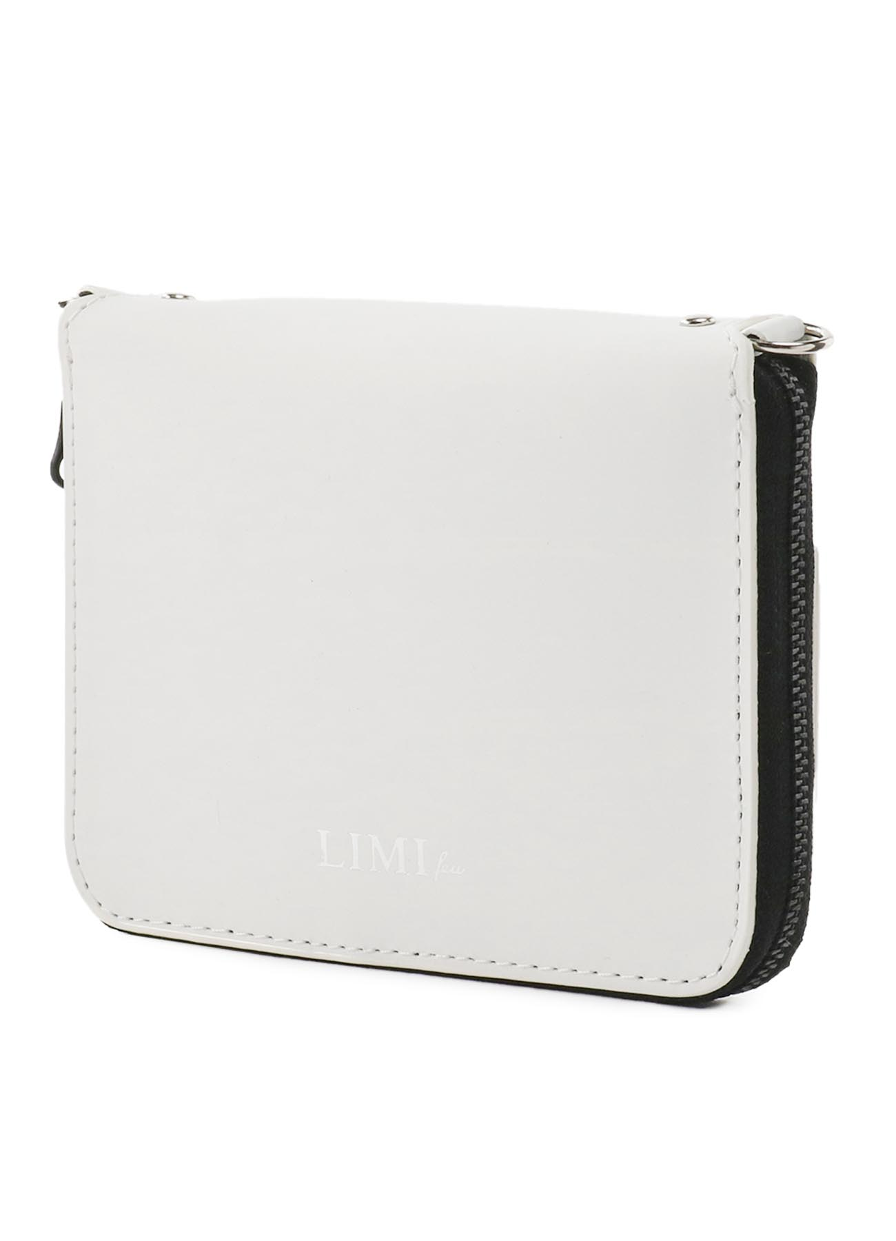 Rubber Touch Leather Chain Wallet