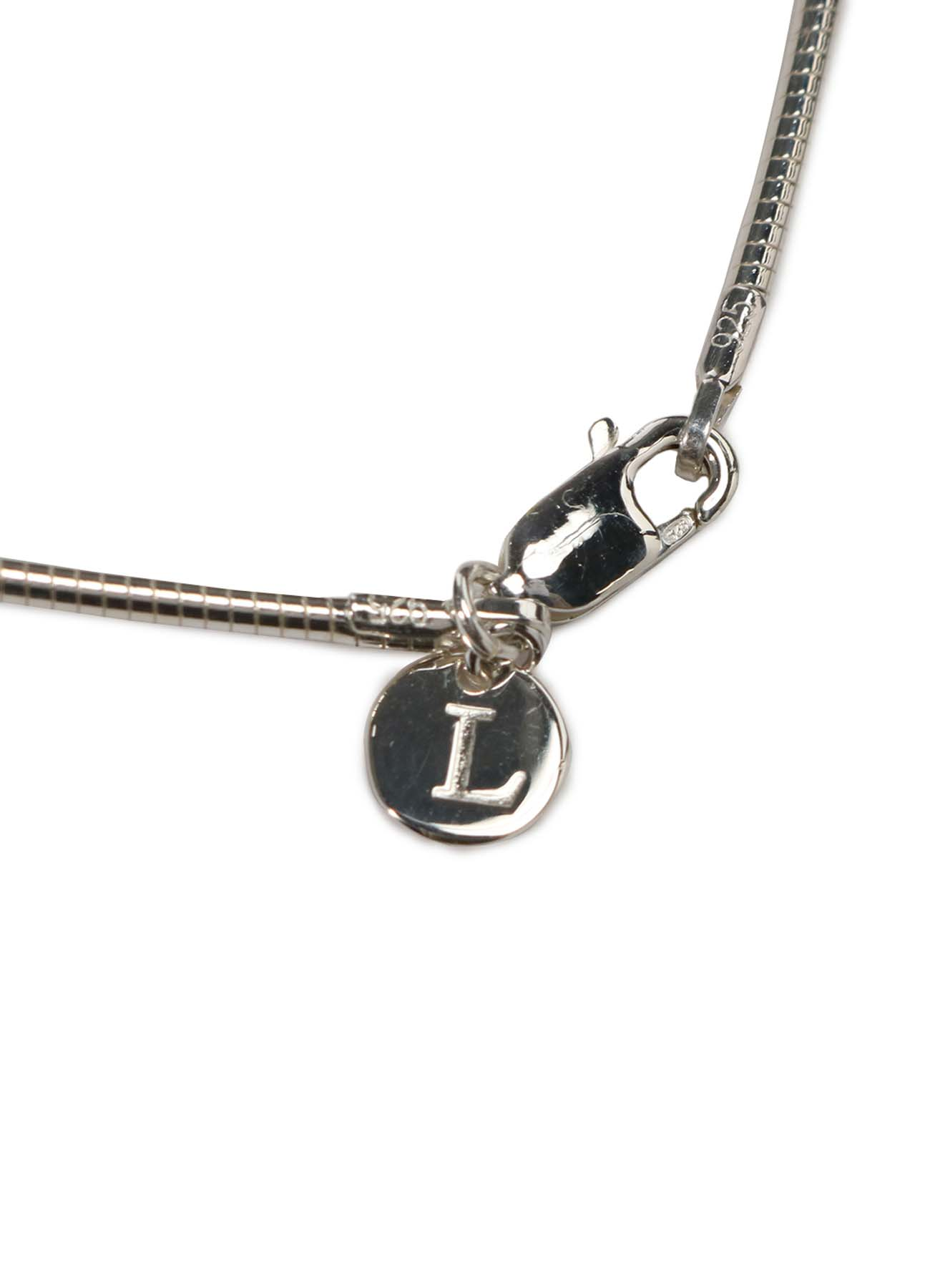 Silver 925 Bare Wire Necklace