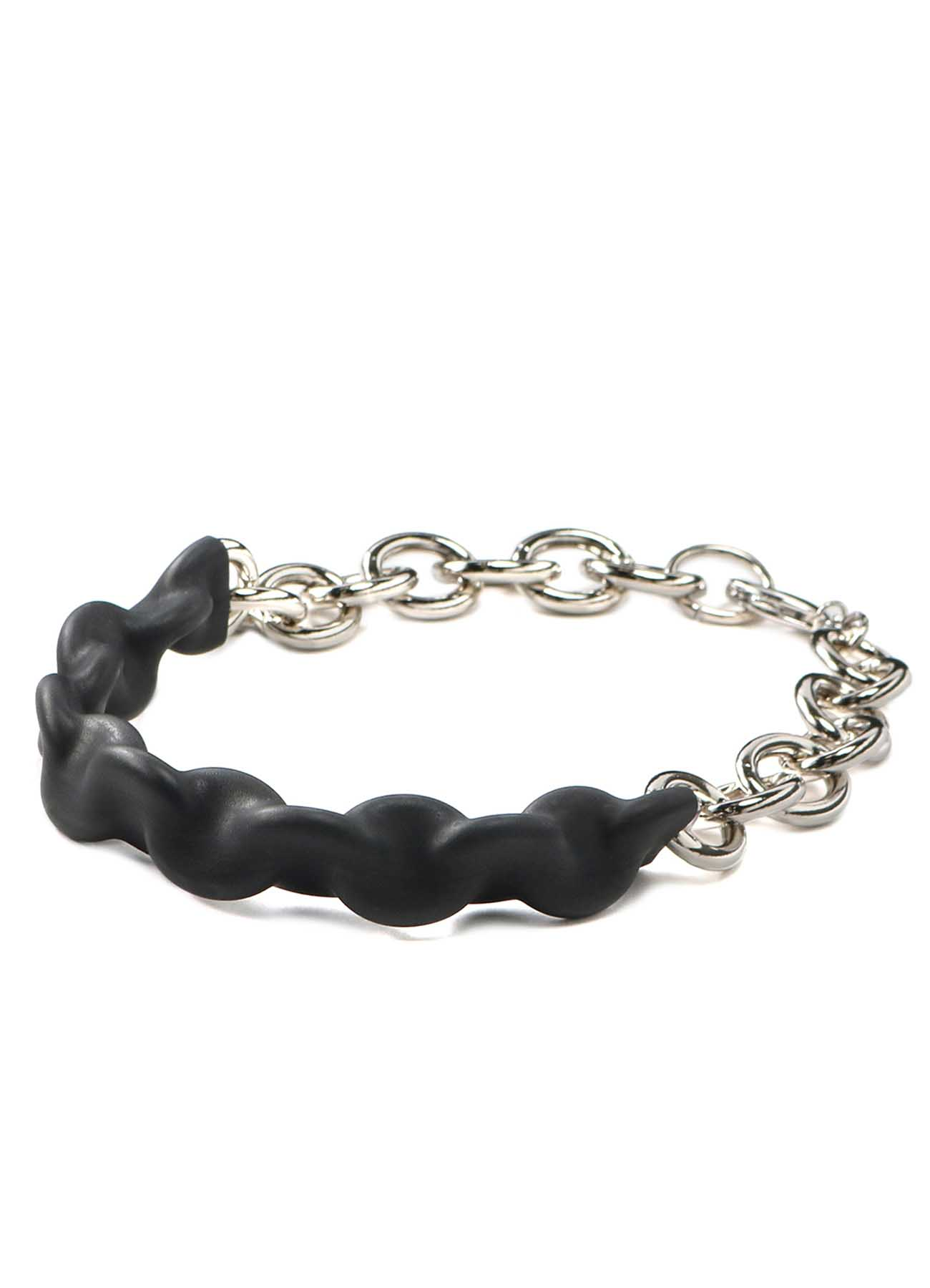 Rubber Chain Big Chain Necklace