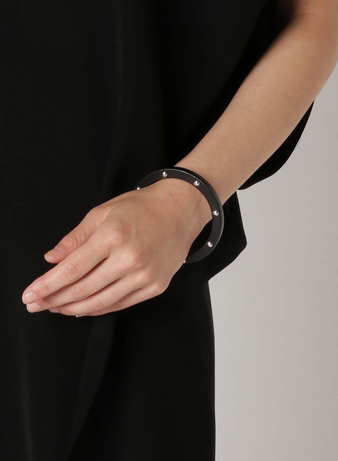 Nume Leather Studs Bracelet