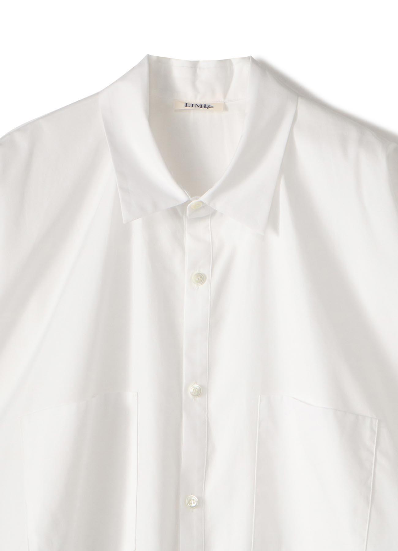 100/2 Broad B Side Drape Shirt