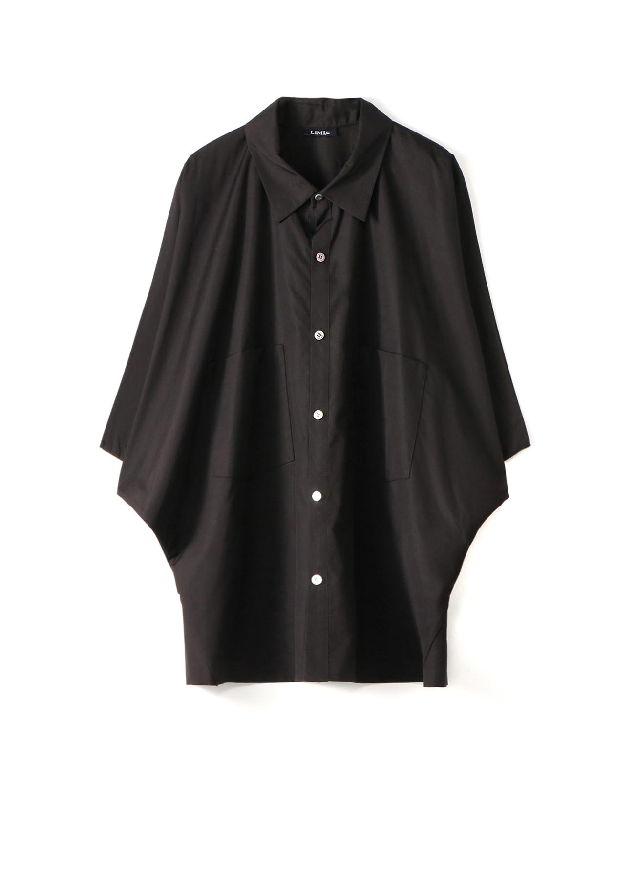 100/2 Broad B Side Drape Shirt