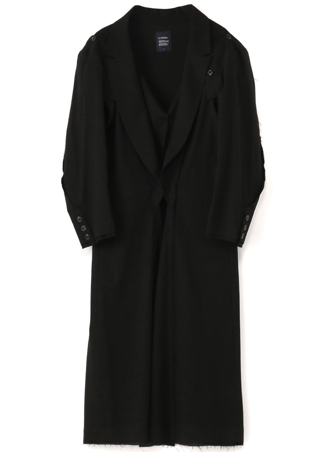 C/Li Calico A Button Sleeve Coat
