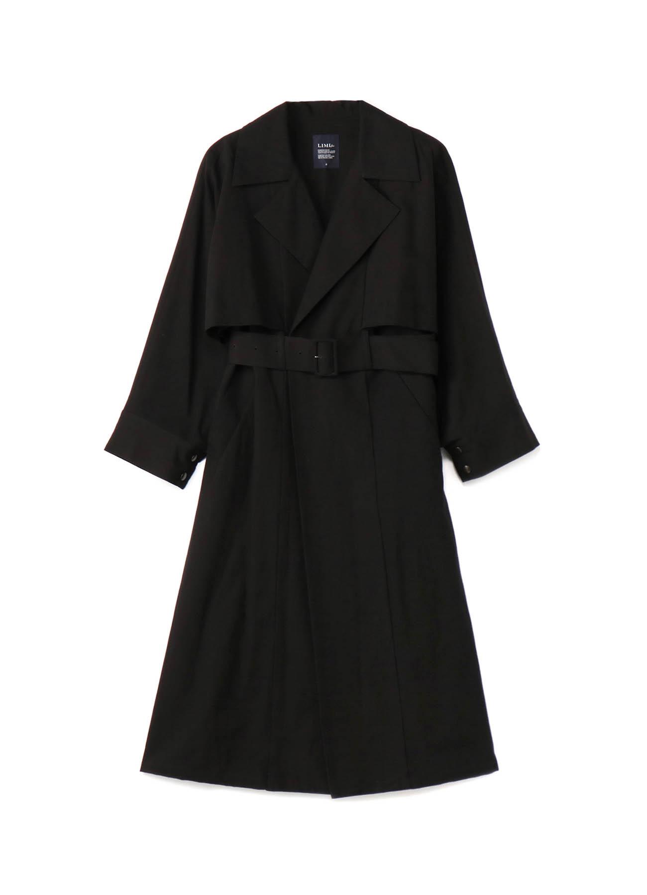 C/Li Poplin Cape Sleeve Coat