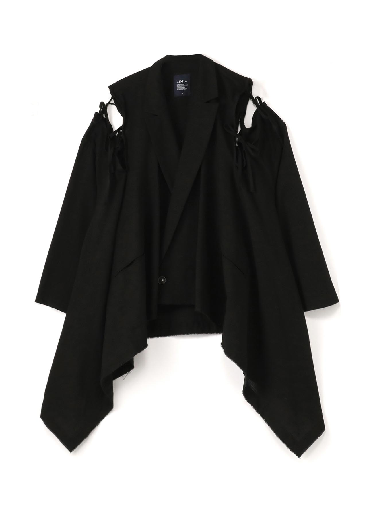 C/Li Calico A Shoulder Slit Coat