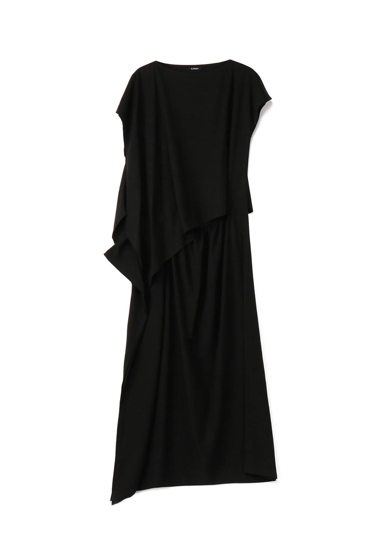 Rayon Cloth Asymme Layered Dress