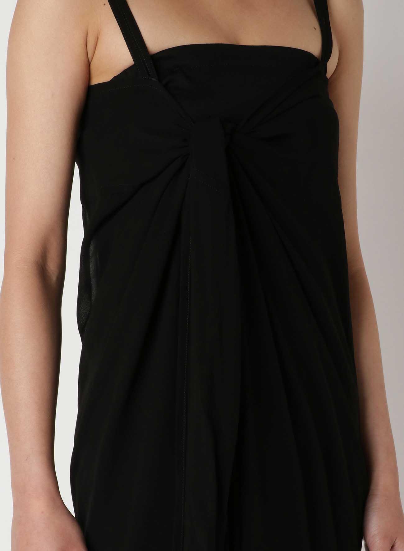 Cu/Chiffon Chest Knot Cami Dress