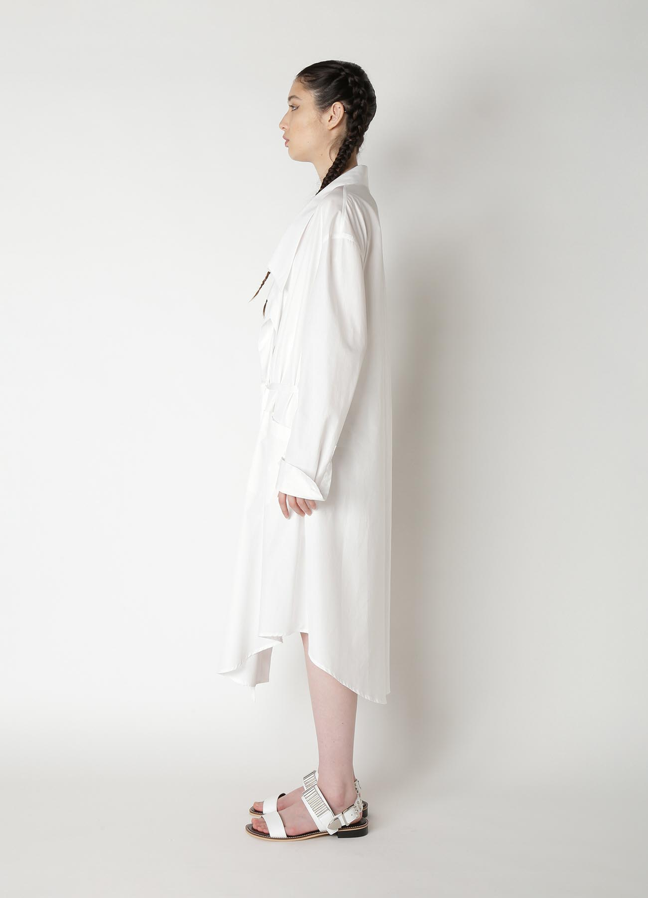 100/2 Broad B Cache Coeur Shirt Dress