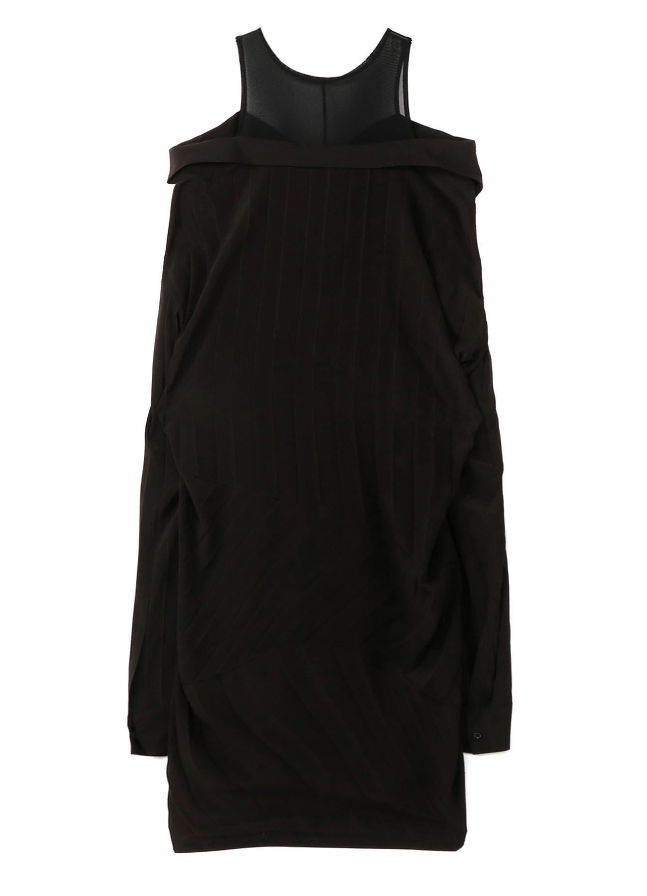 Pleats Decyne Inner Layered Dress B