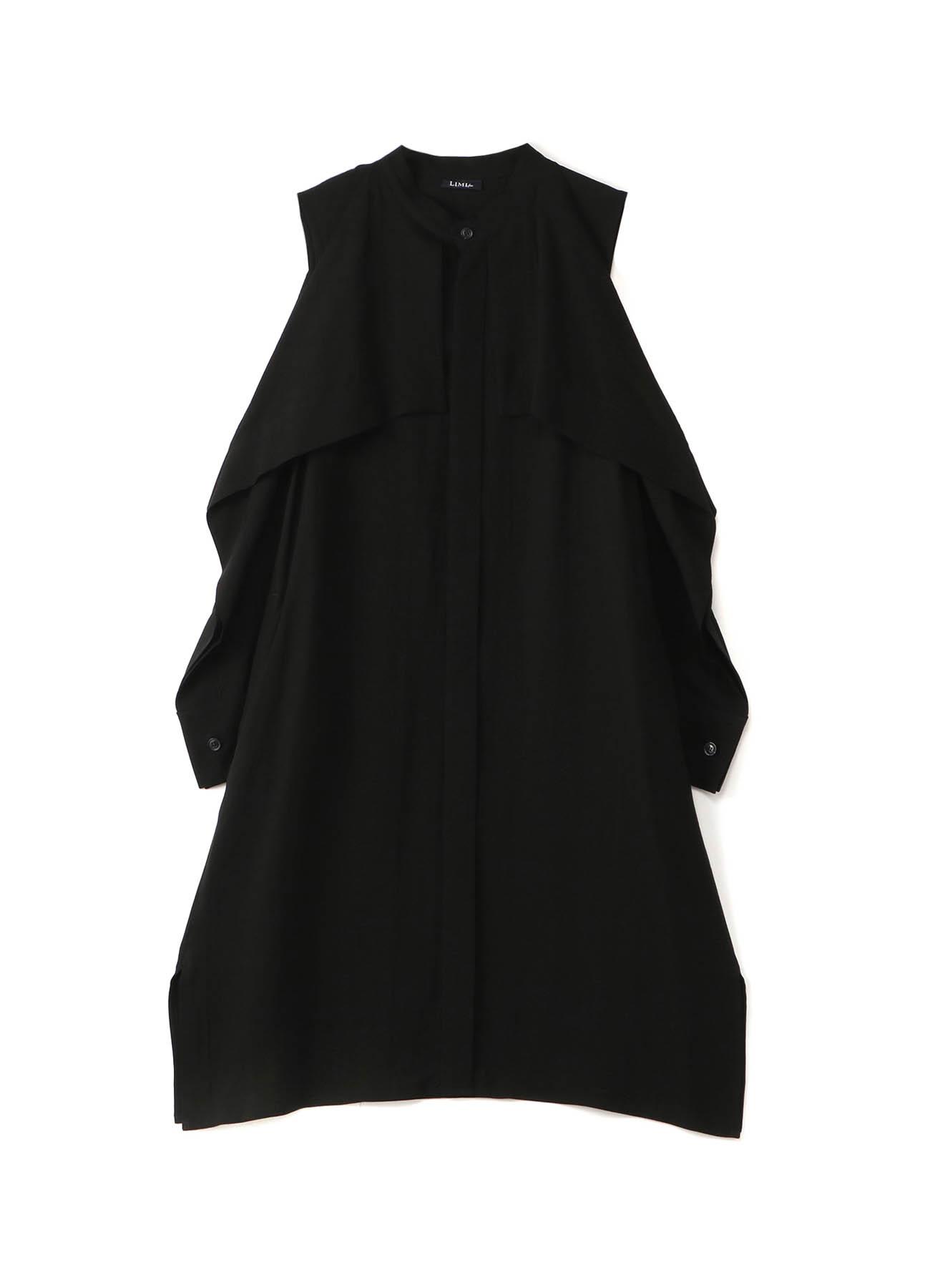 Ten/Cu Tussah Square Sleeve Dress