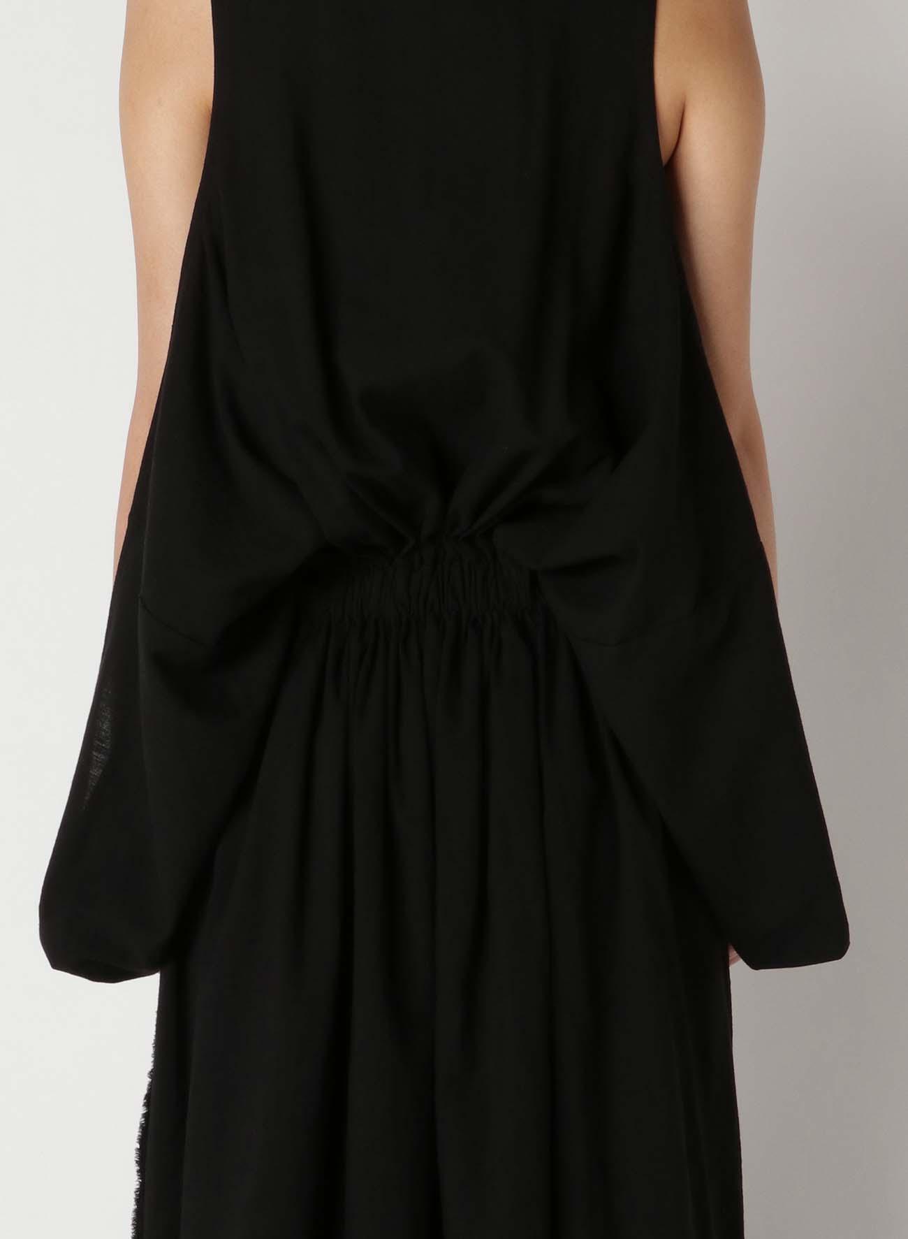 C/Li Calico A Waist Gather Dress