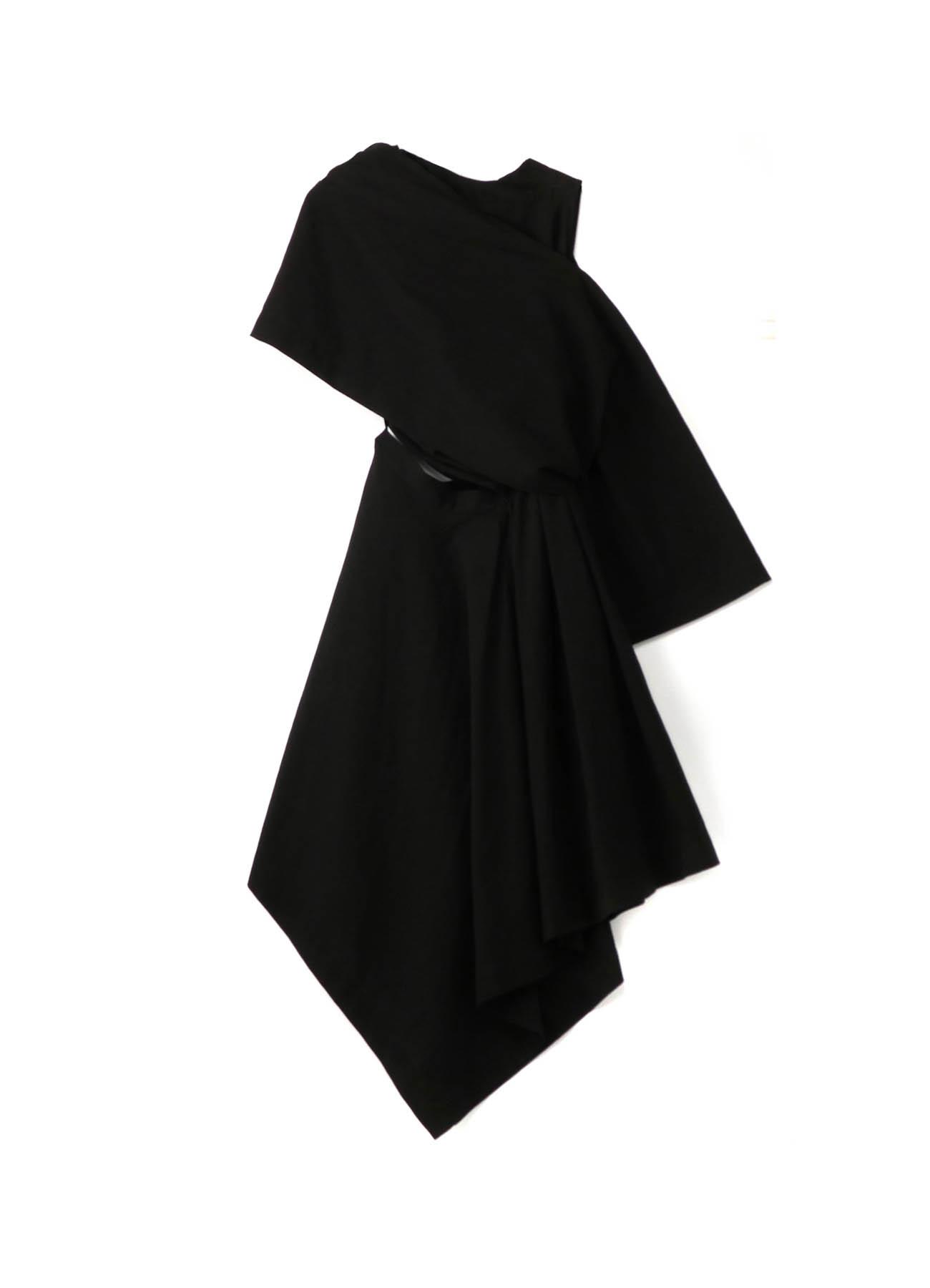 C/Li Calico A Drape Dress