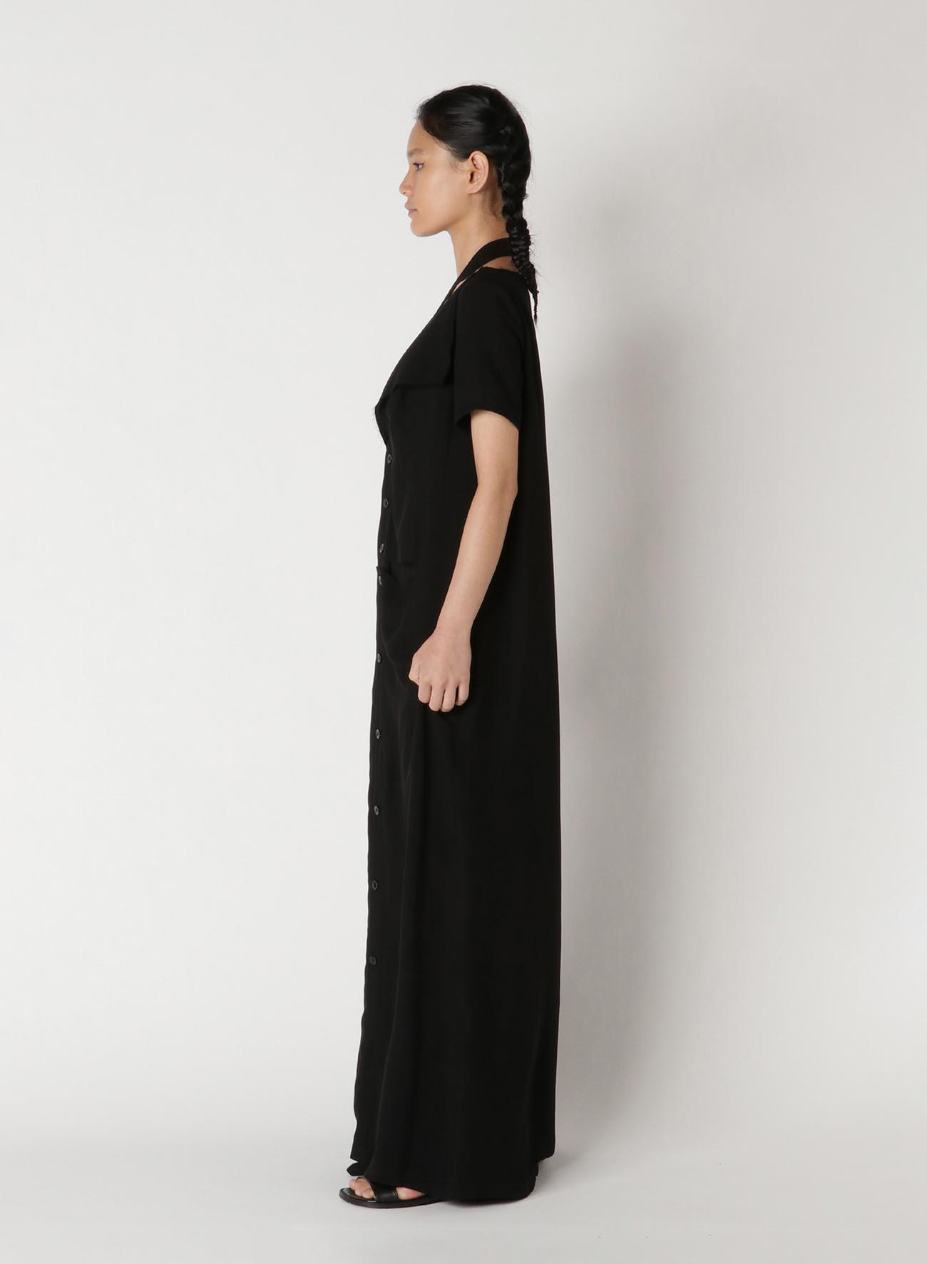 Ten/Cu Tussah Cut Out Dress