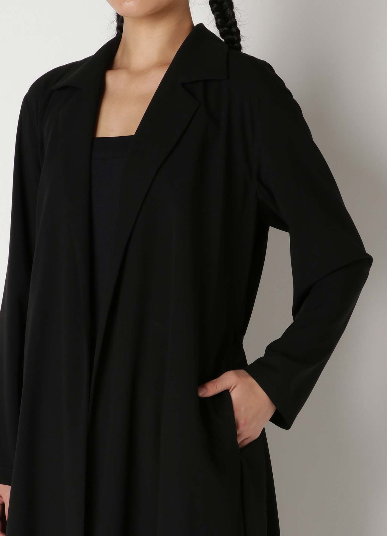 Rayon Cloth Tailored Dress B
