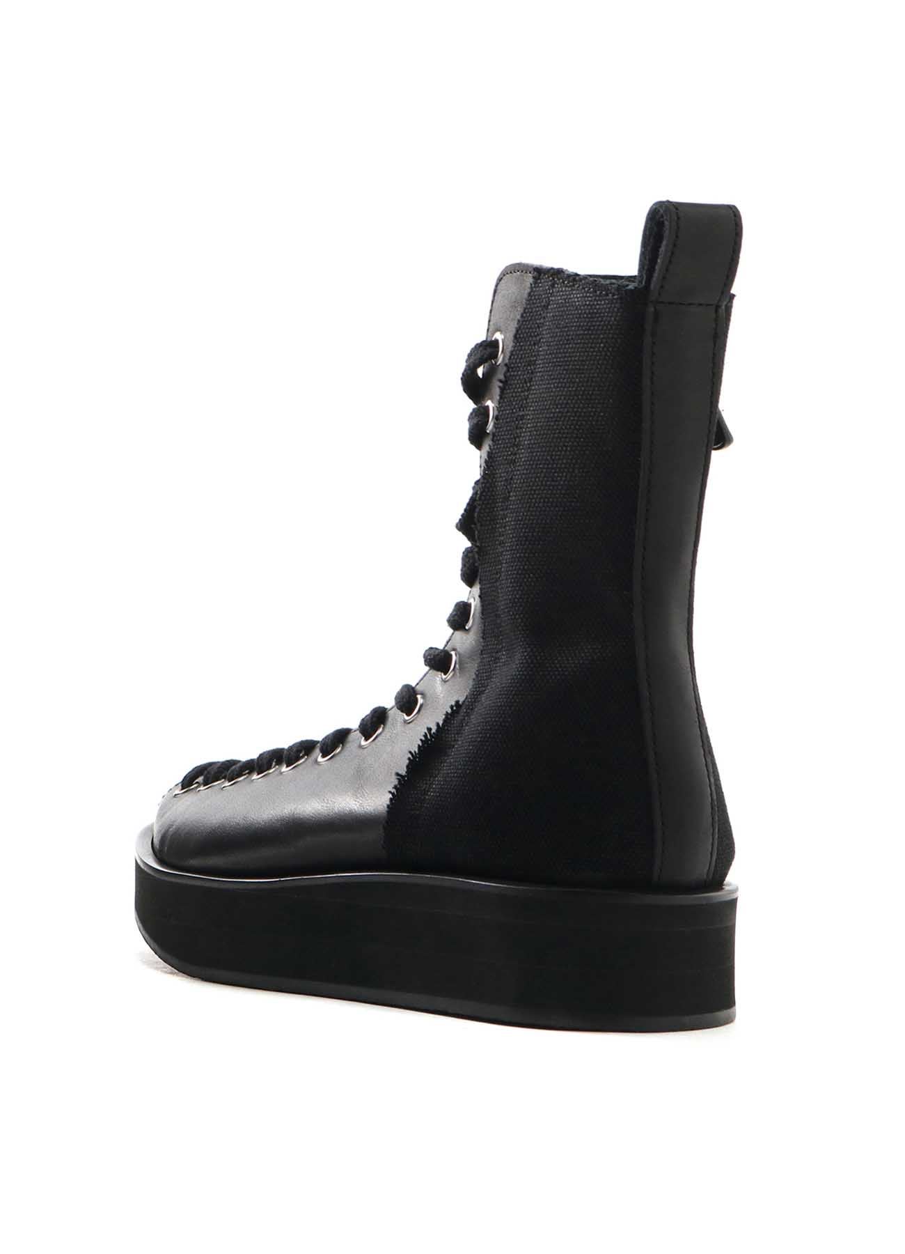 Steer Leather 14 Hole Boots