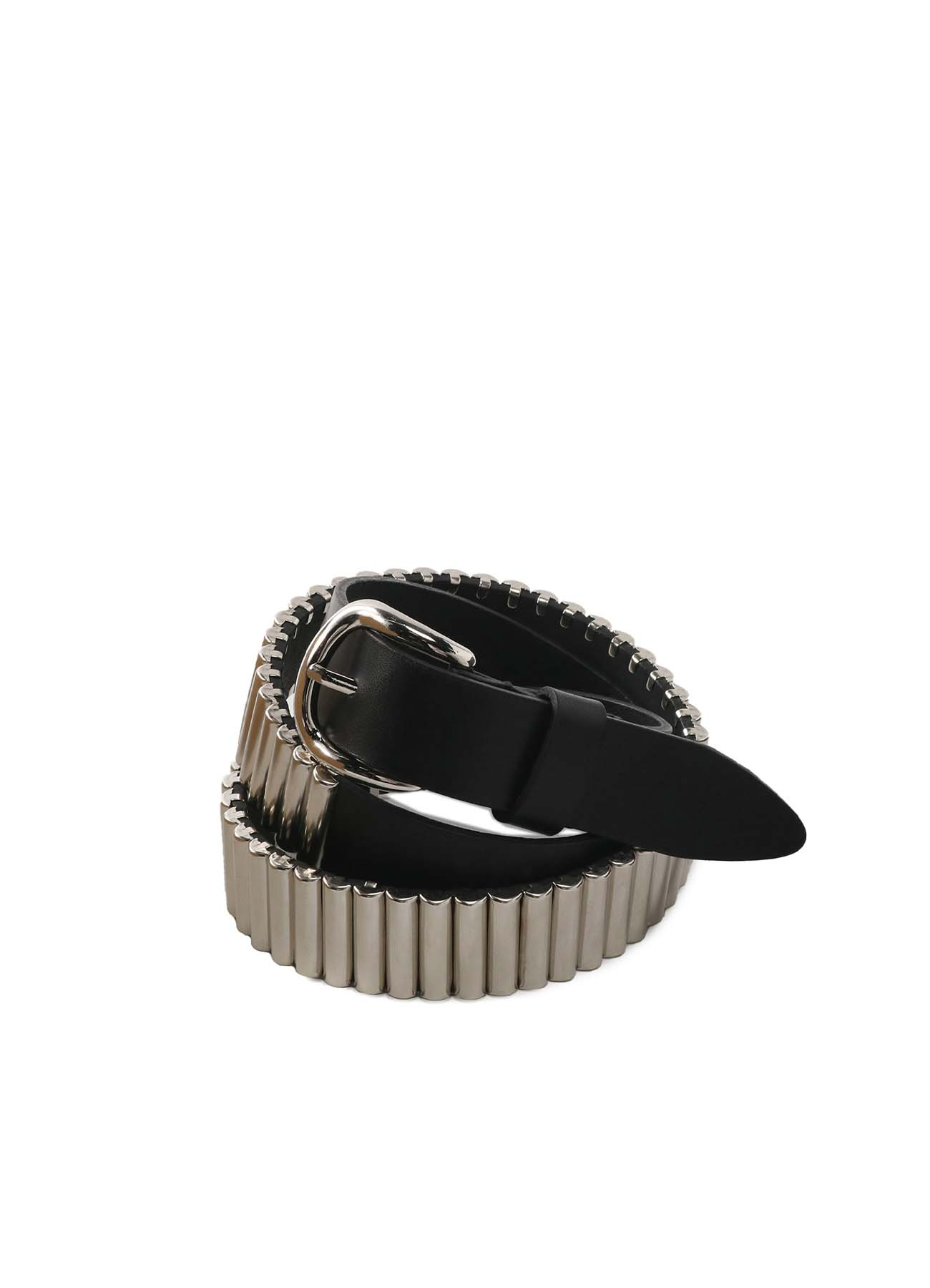 Oil Nume Leather Rivet Belt