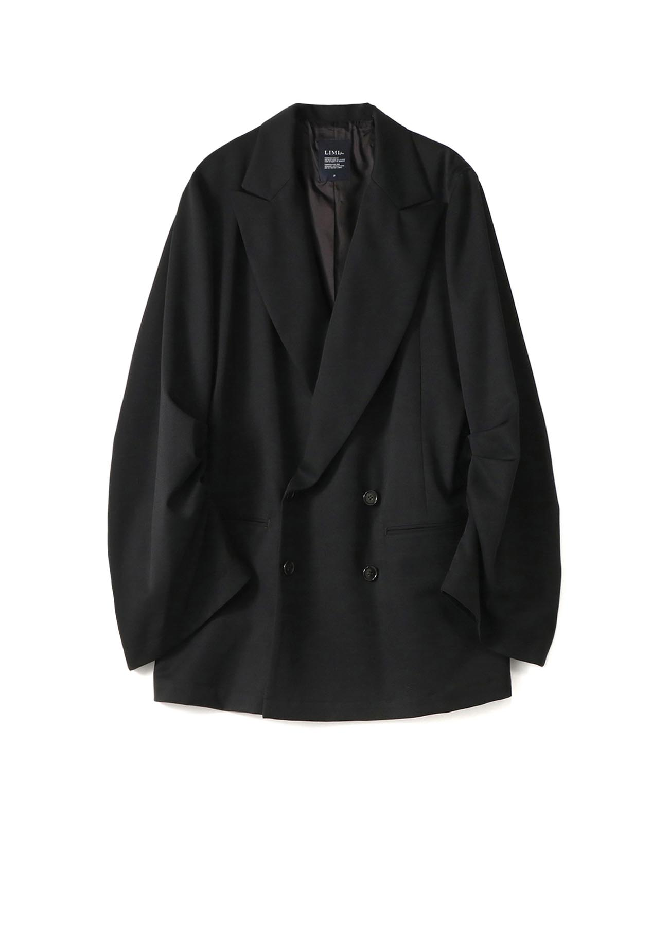 W/Gabardine Tuck Sleeve Jacket