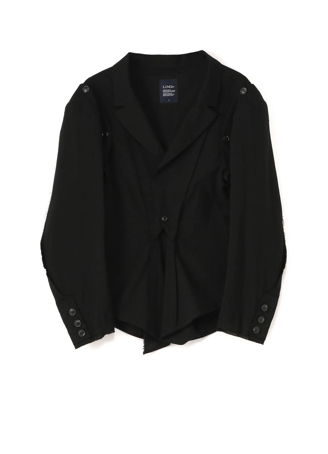 C/Li Calico A Button Sleeve Jacket